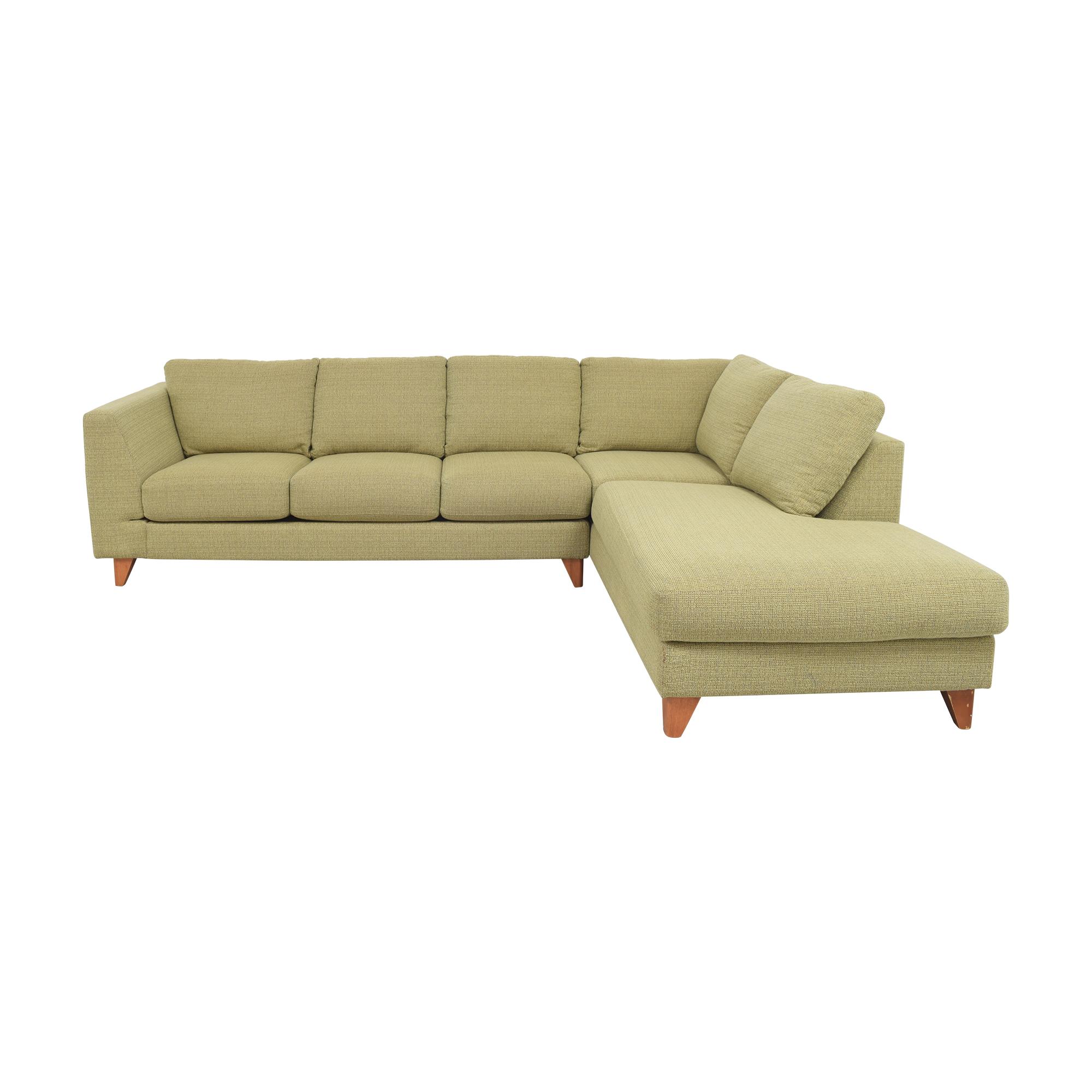 Jaymar Jaymar Chaise Sectional Sofa discount