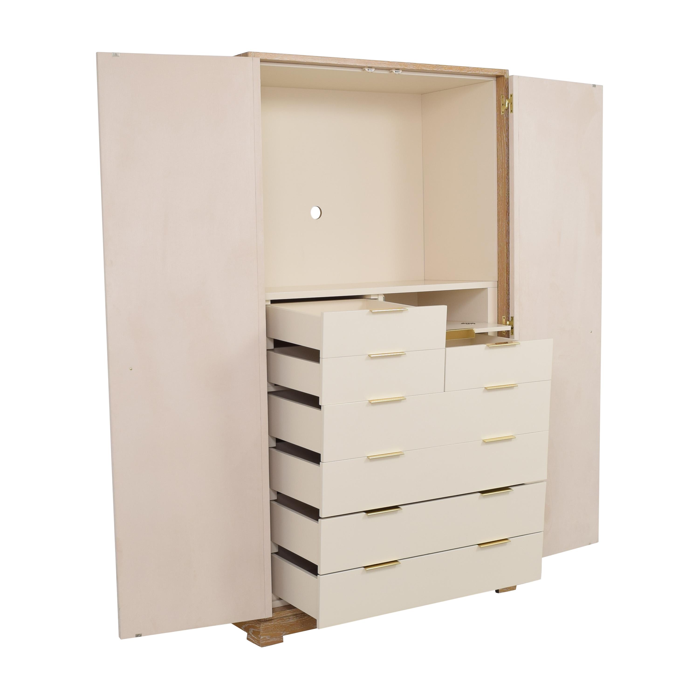 Custom Two Door Armoire pa