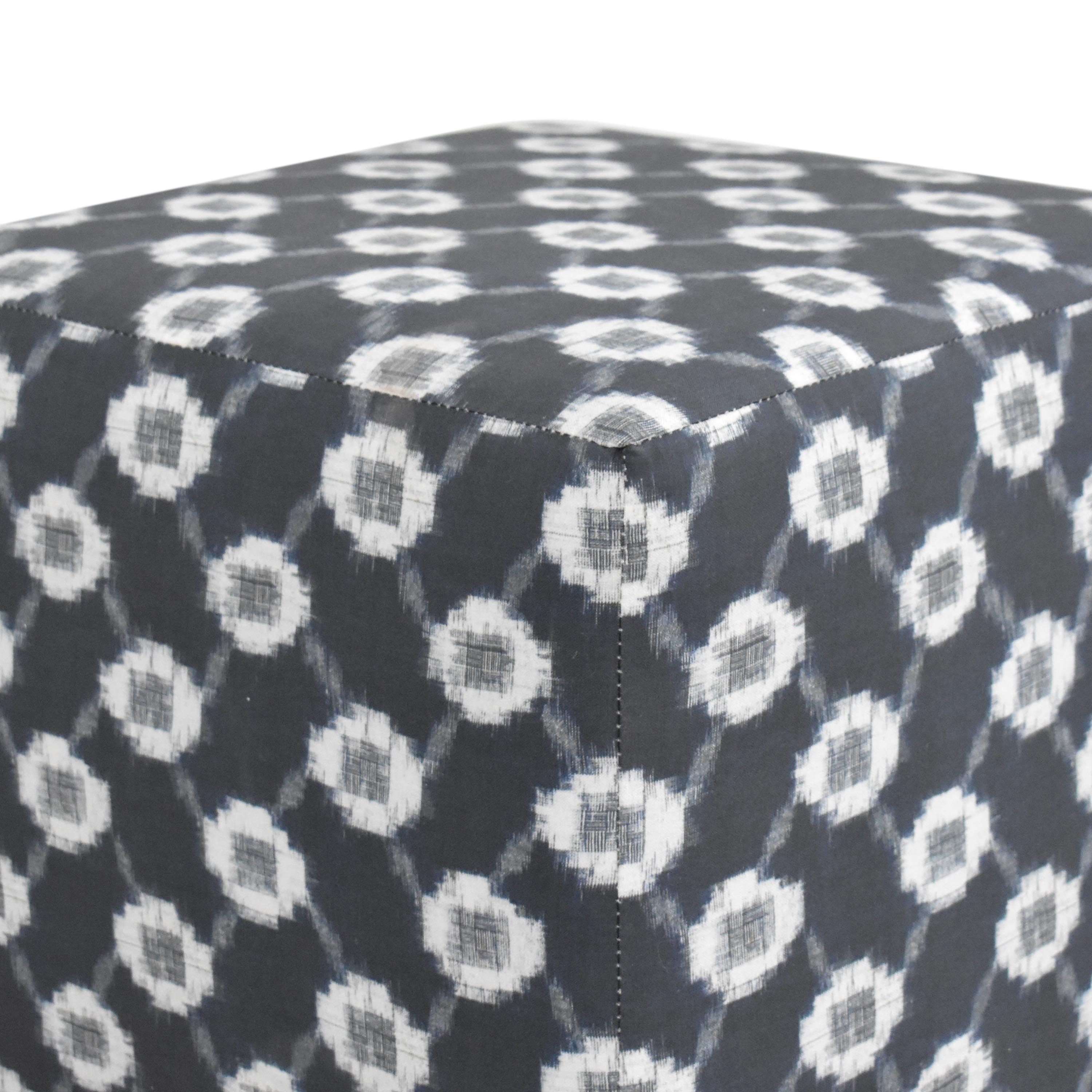 The Inside The Inside Cube Ottoman for sale
