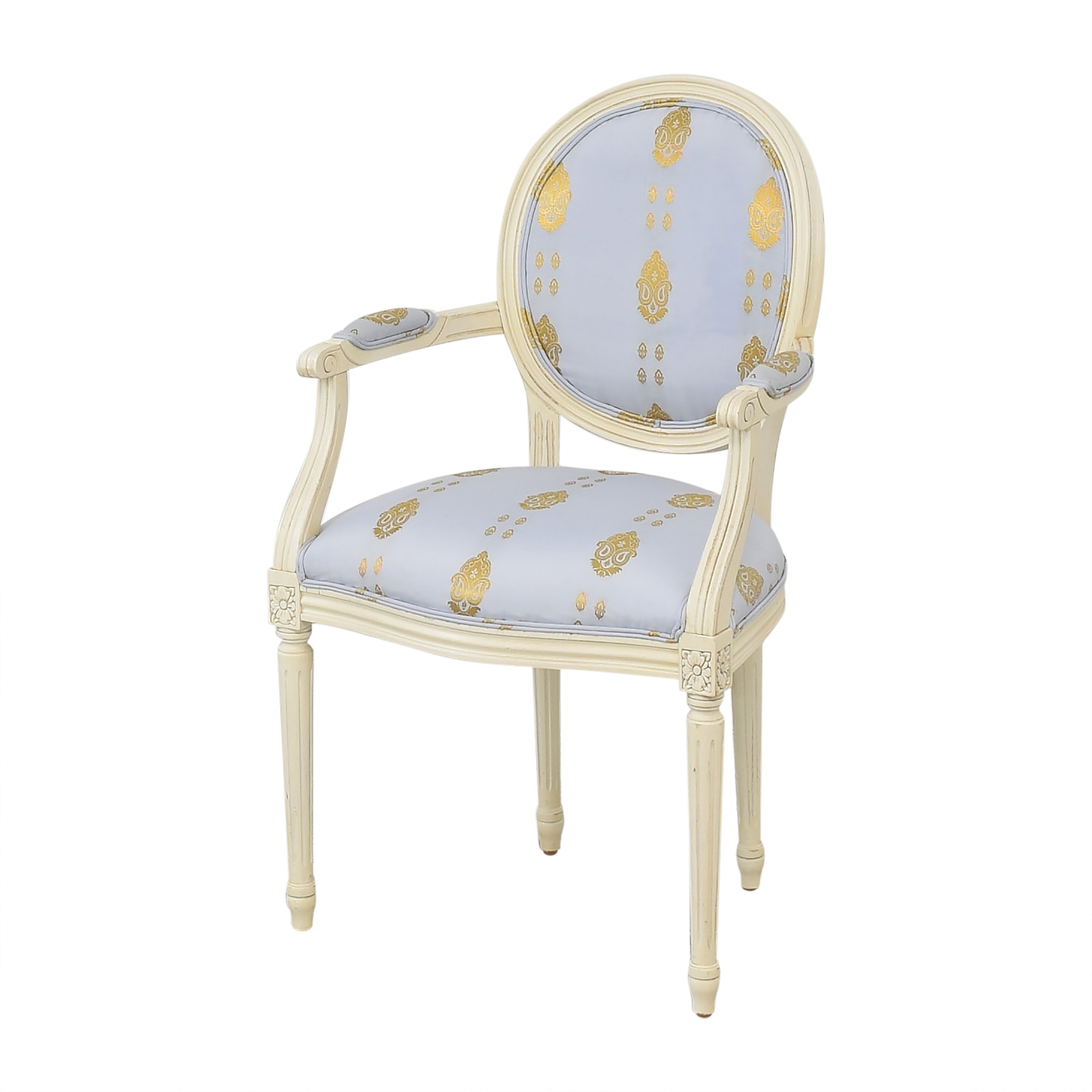 Ethan Allen Ethan Allen French Style Arm Chair pa