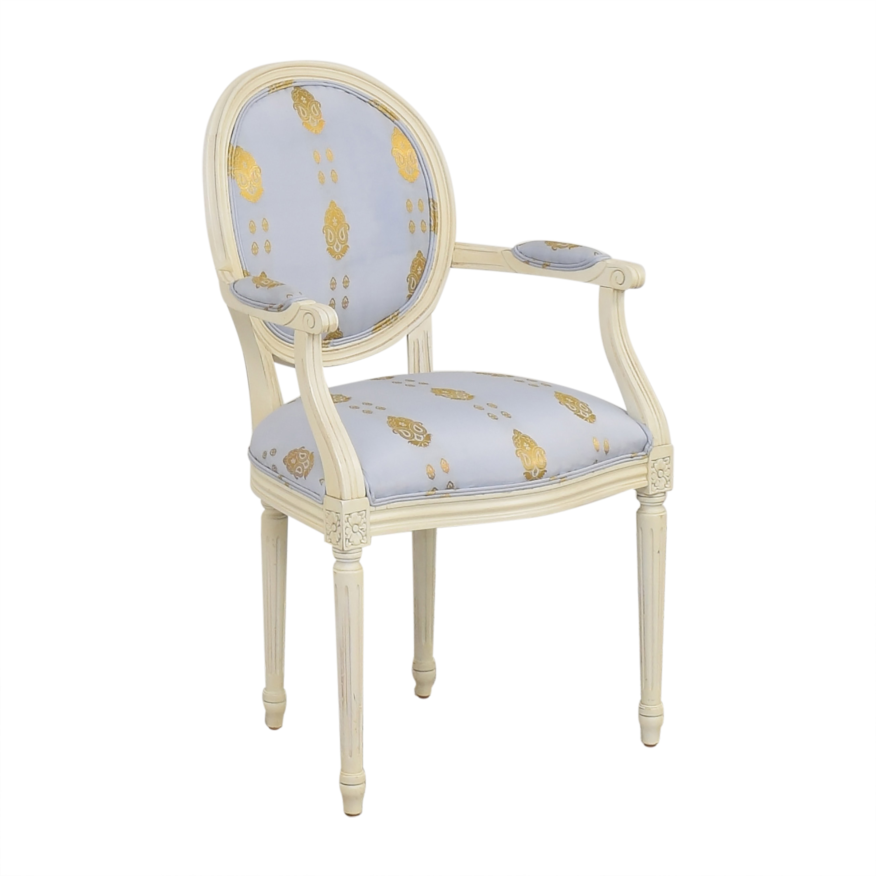shop Ethan Allen French Style Arm Chair Ethan Allen
