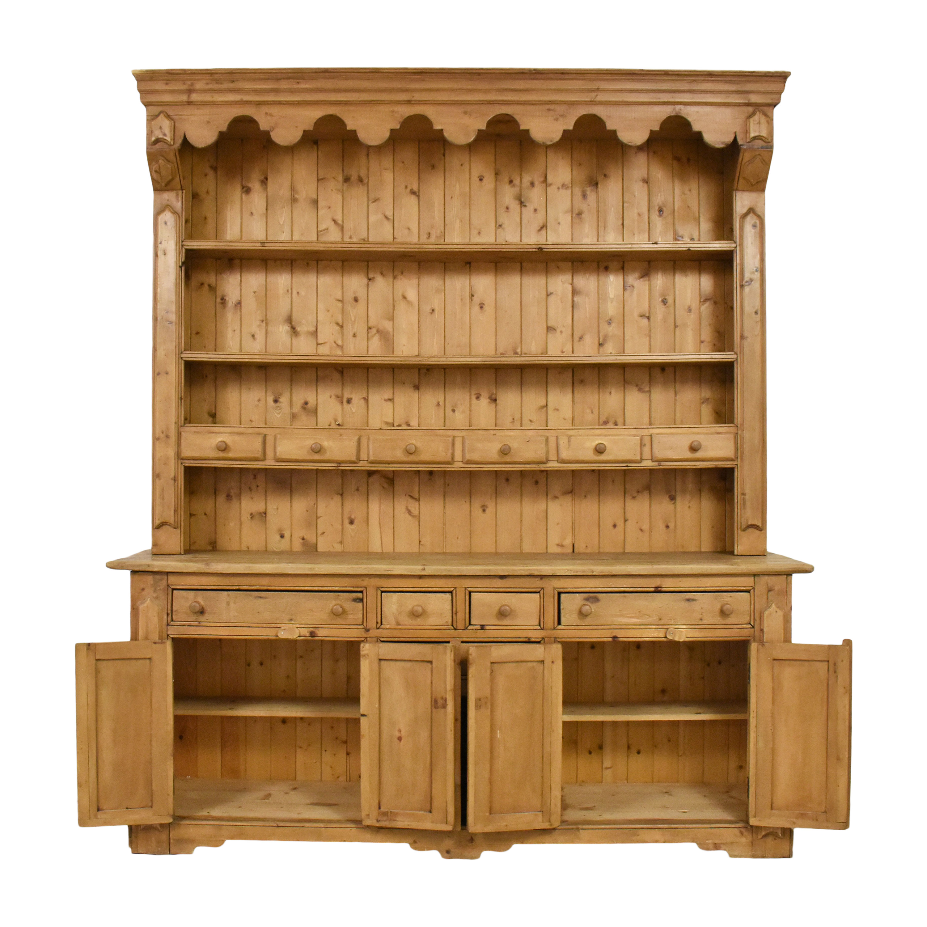 ABC Carpet & Home ABC Carpet & Home Sideboard with Hutch nj