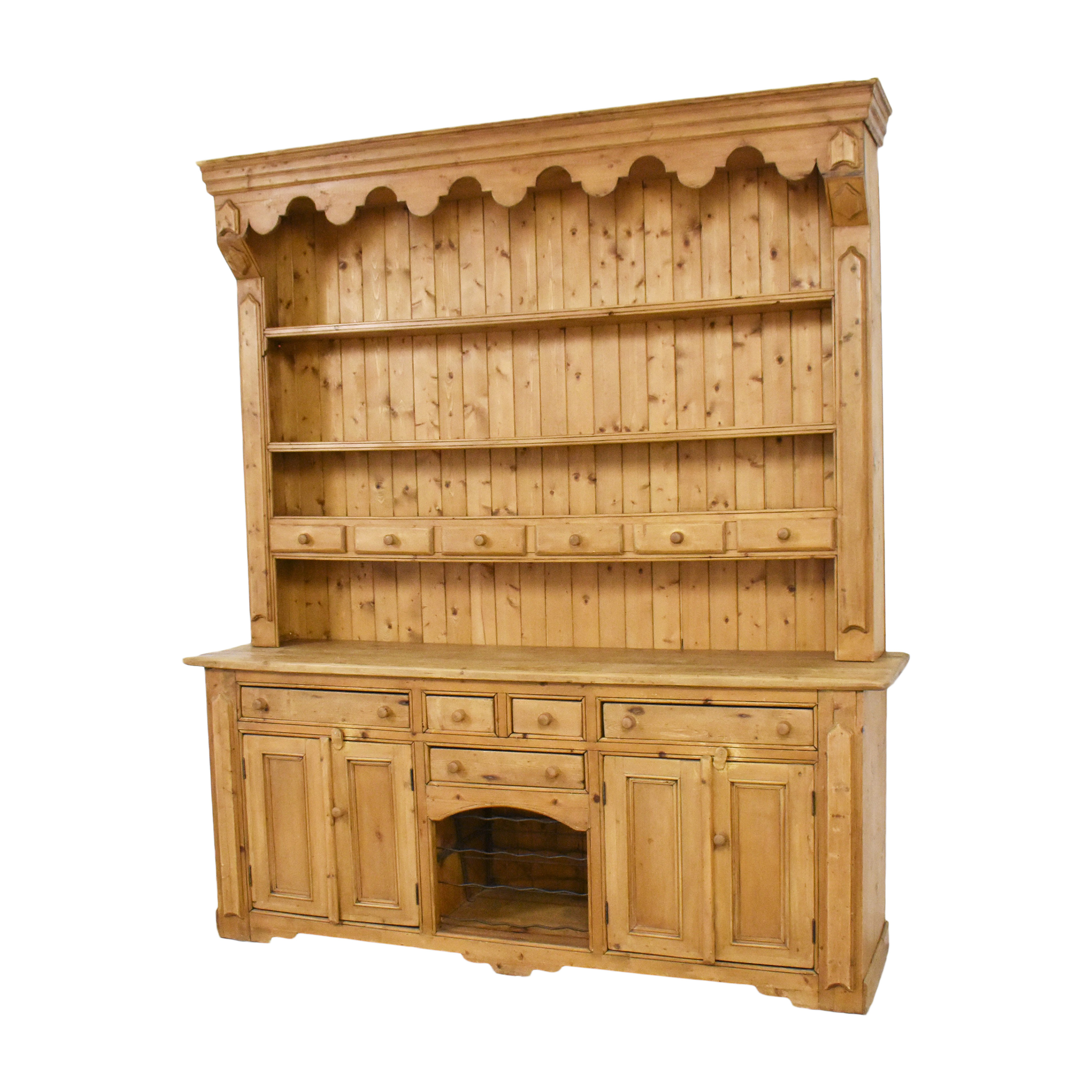 ABC Carpet & Home ABC Carpet & Home Sideboard with Hutch discount