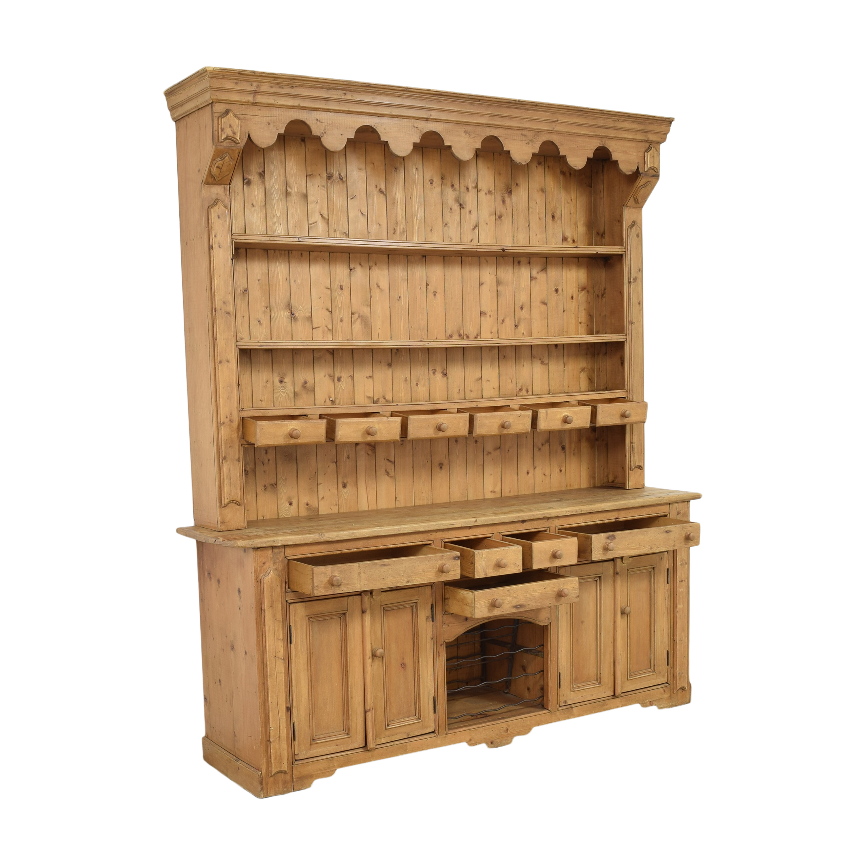 shop ABC Carpet & Home Sideboard with Hutch ABC Carpet & Home