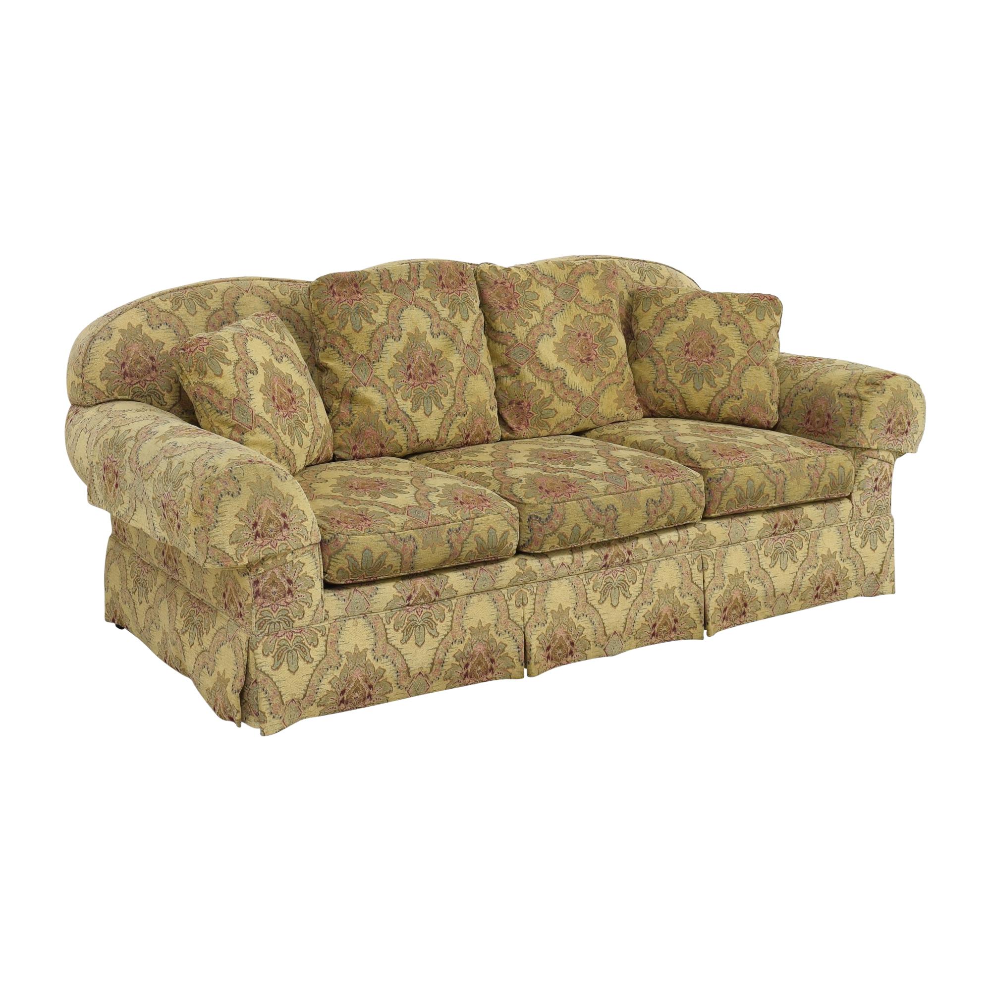 Sherrill Furniture Sherrill Furniture Three Cushion Tapestry Sofa nyc