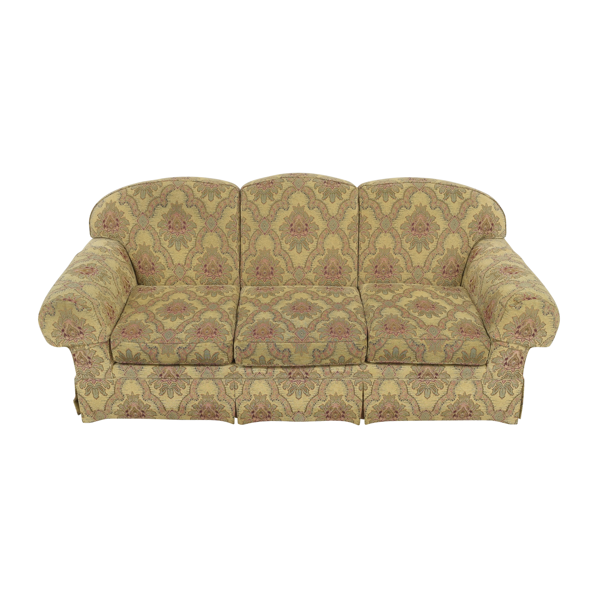buy Sherrill Furniture Three Cushion Tapestry Sofa Sherrill Furniture Sofas