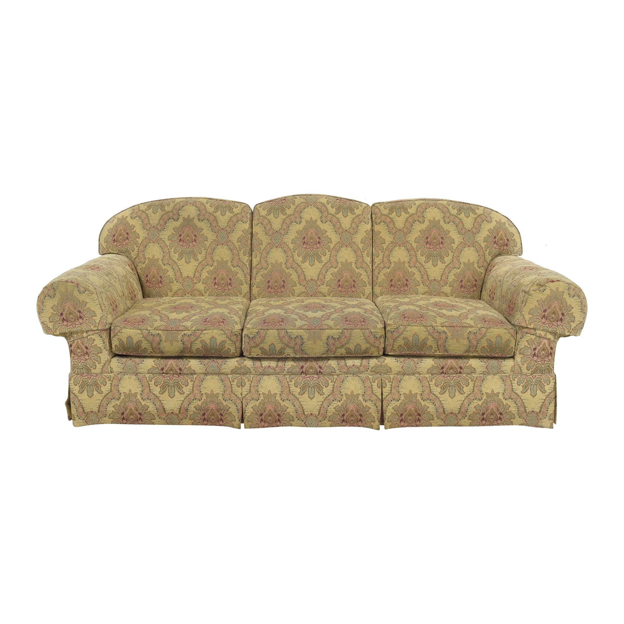Sherrill Furniture Sherrill Furniture Three Cushion Tapestry Sofa coupon
