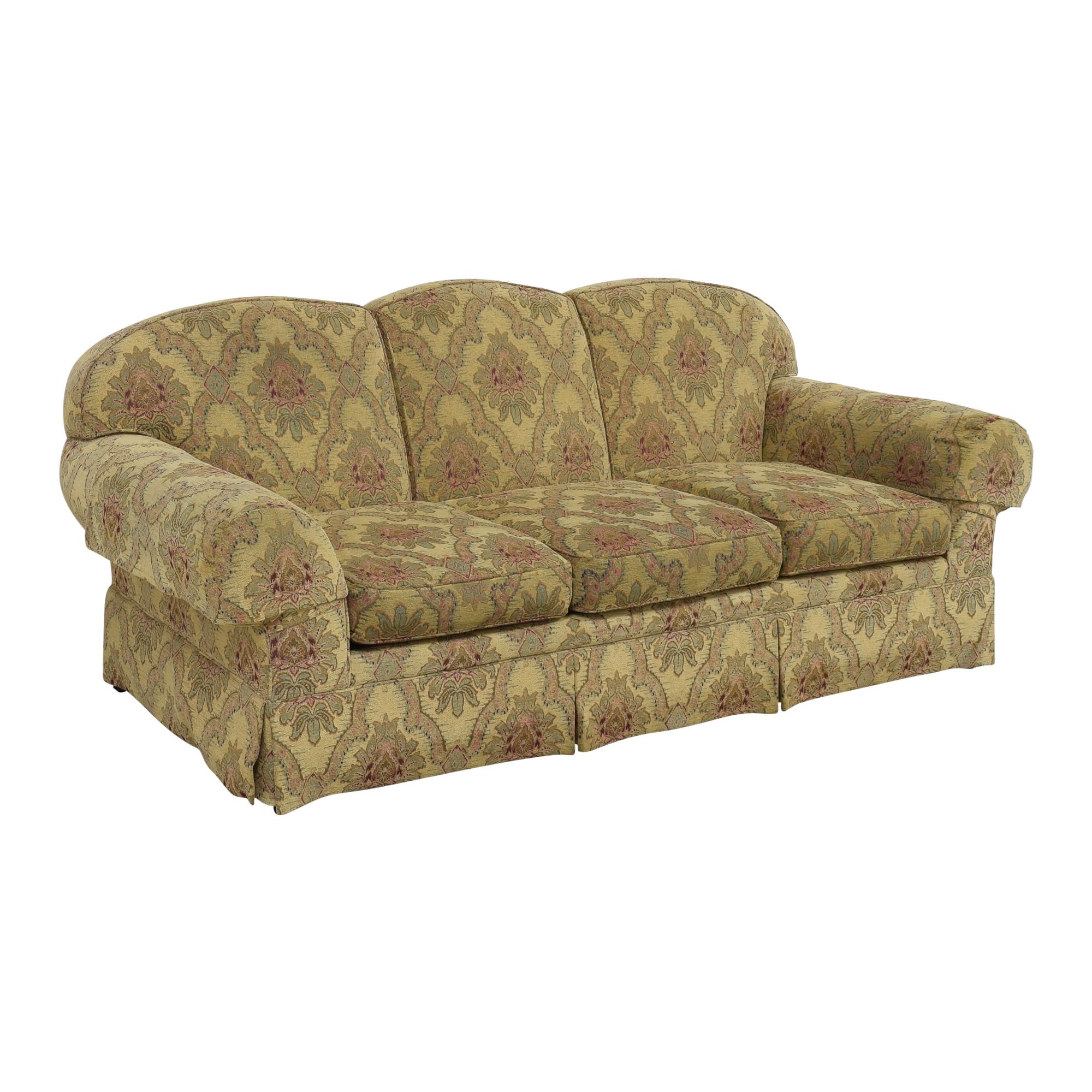 buy Sherrill Furniture Three Cushion Tapestry Sofa Sherrill Furniture Classic Sofas