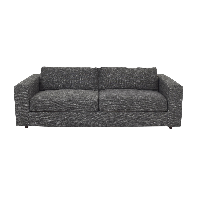 shop West Elm Urban Two Cushion Sofa West Elm Sofas