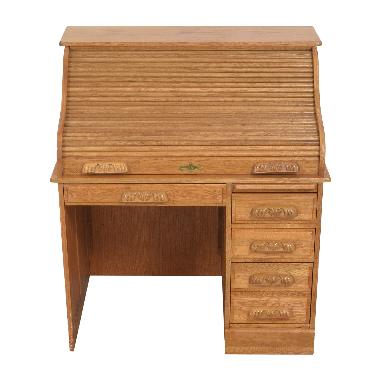 Roll Top Home Office Desk sale