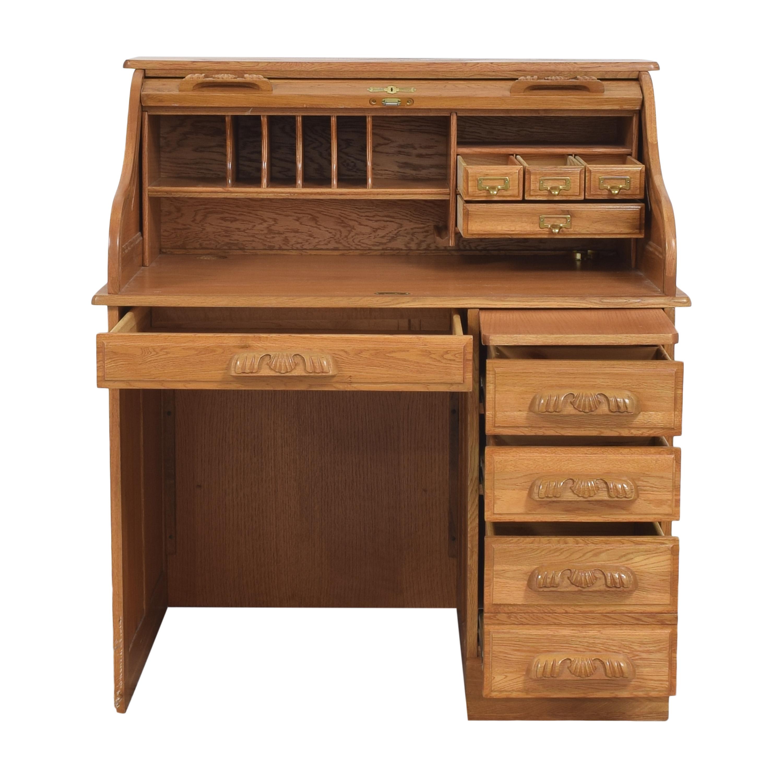 shop Roll Top Home Office Desk  Home Office Desks