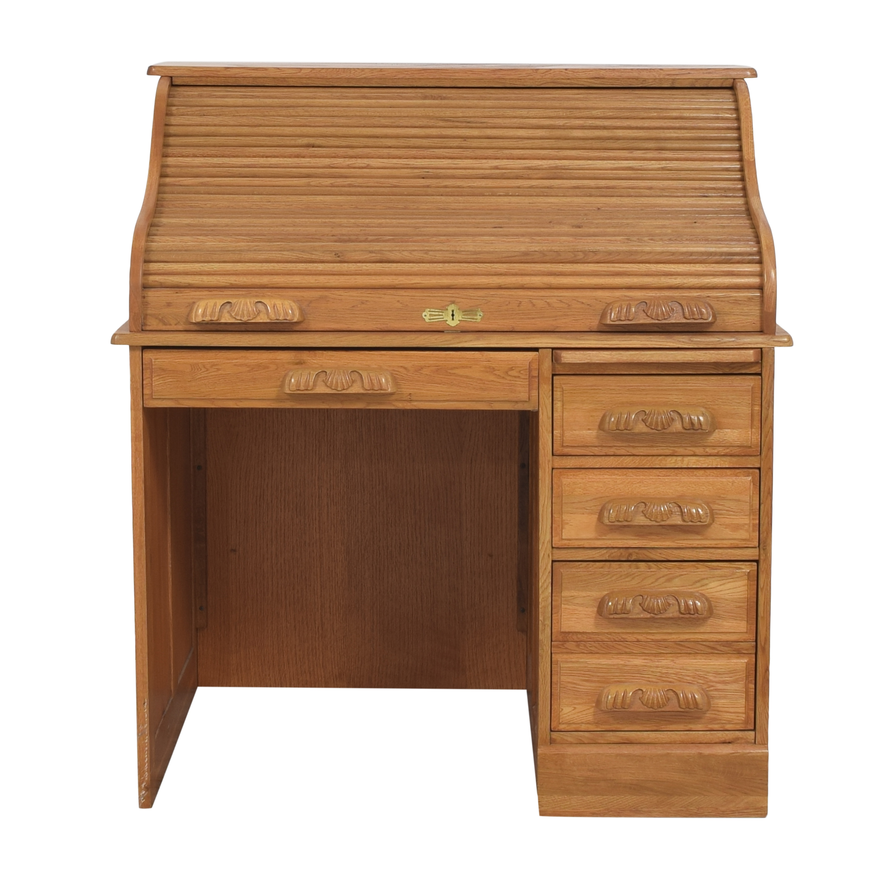 Roll Top Home Office Desk / Tables