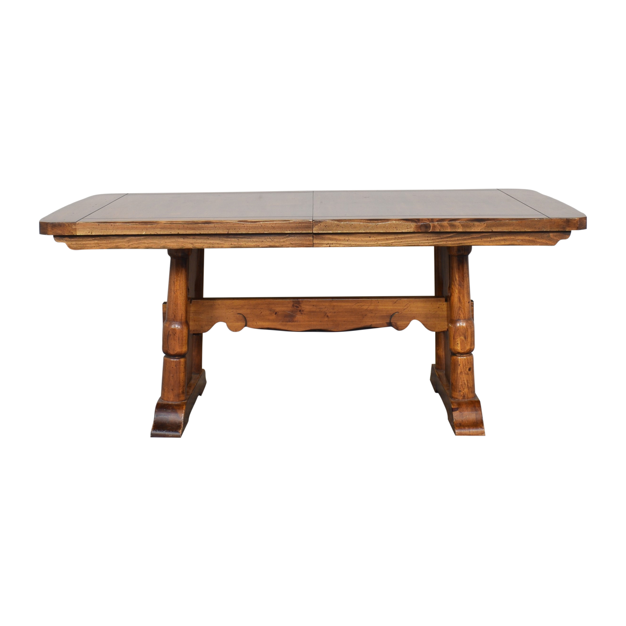 Burlington House Furniture Burlington House Furniture Extendable Dining Table Dinner Tables