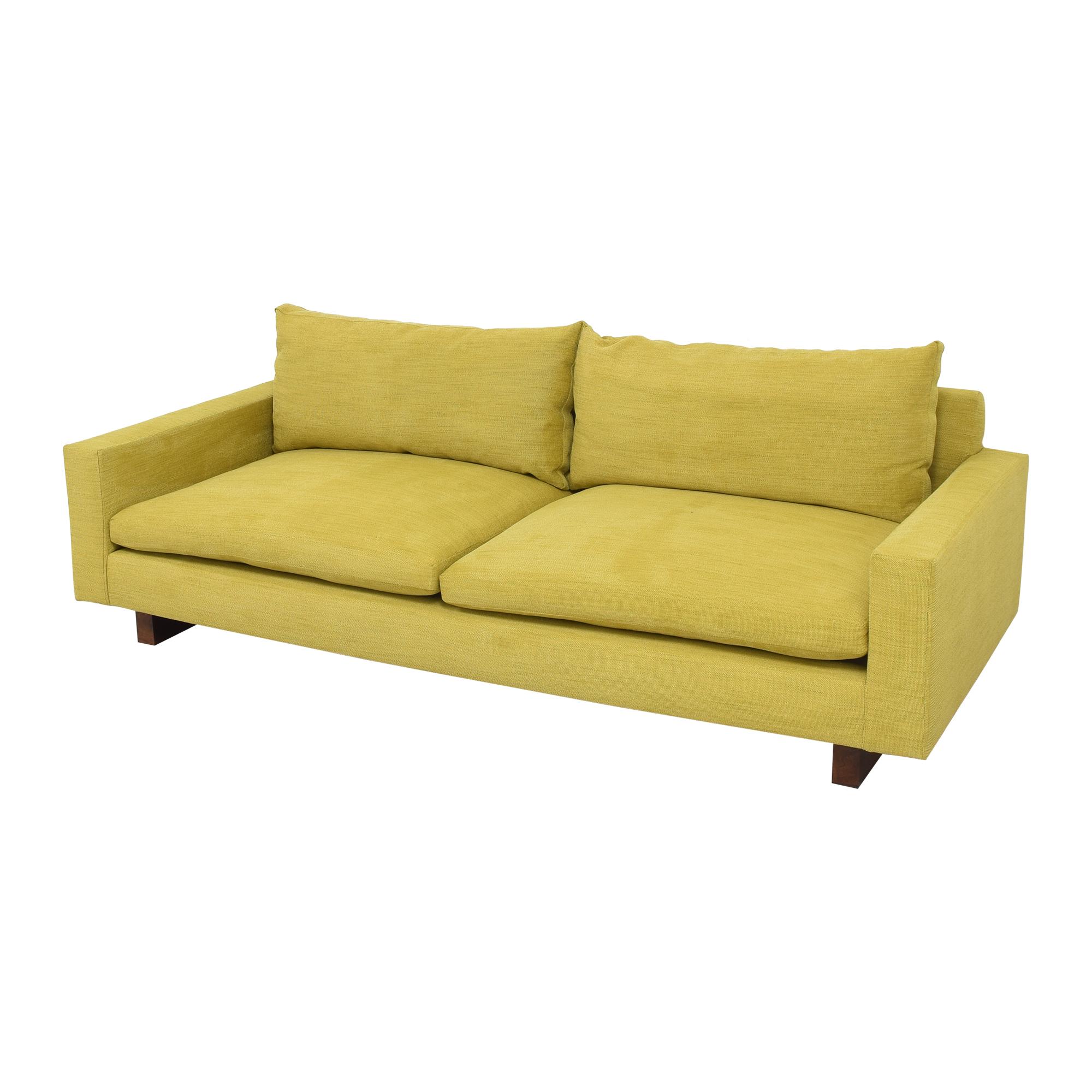 West Elm West Elm Harmony Two Cushion Sofa dimensions