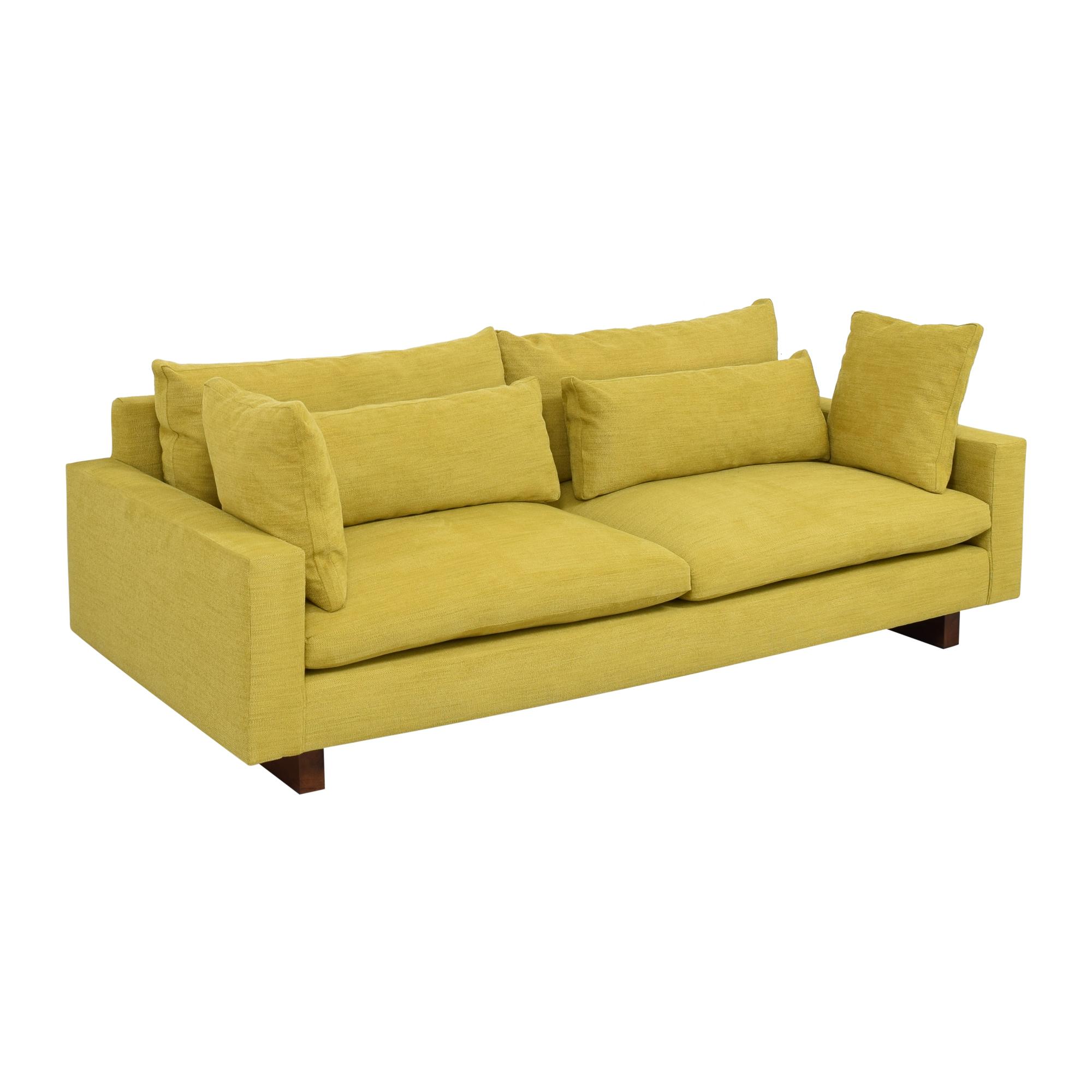 buy West Elm Harmony Two Cushion Sofa West Elm Classic Sofas