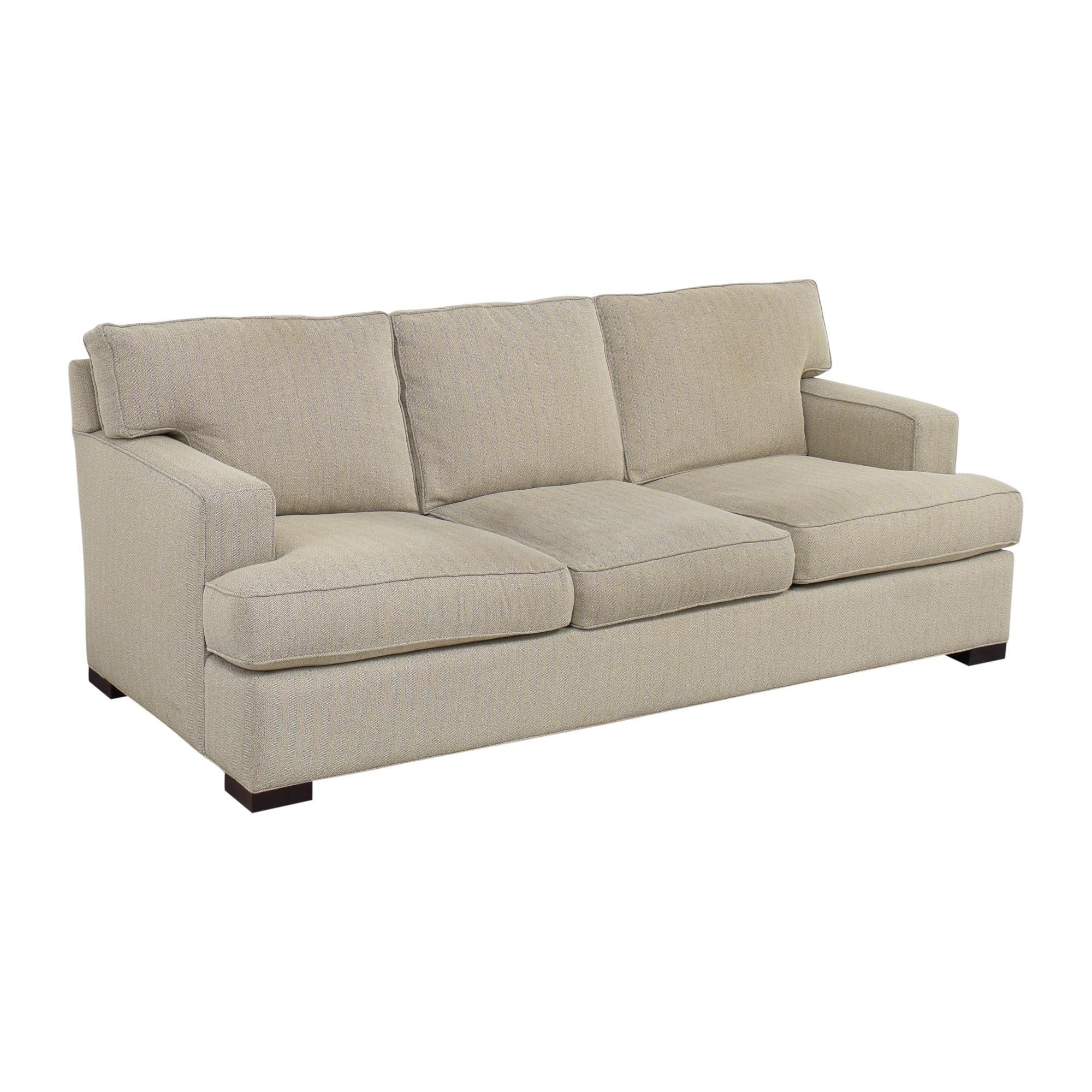 shop Arhaus Dune Three Cushion Sofa Arhaus Sofas