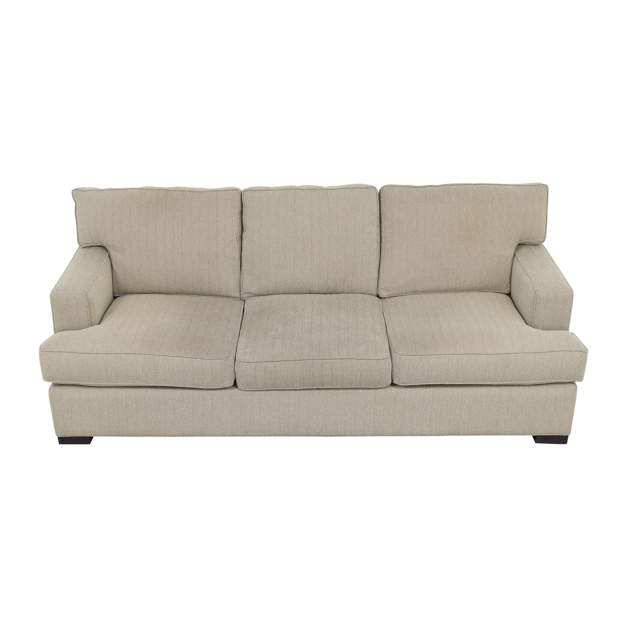 Arhaus Dune Three Cushion Sofa / Sofas
