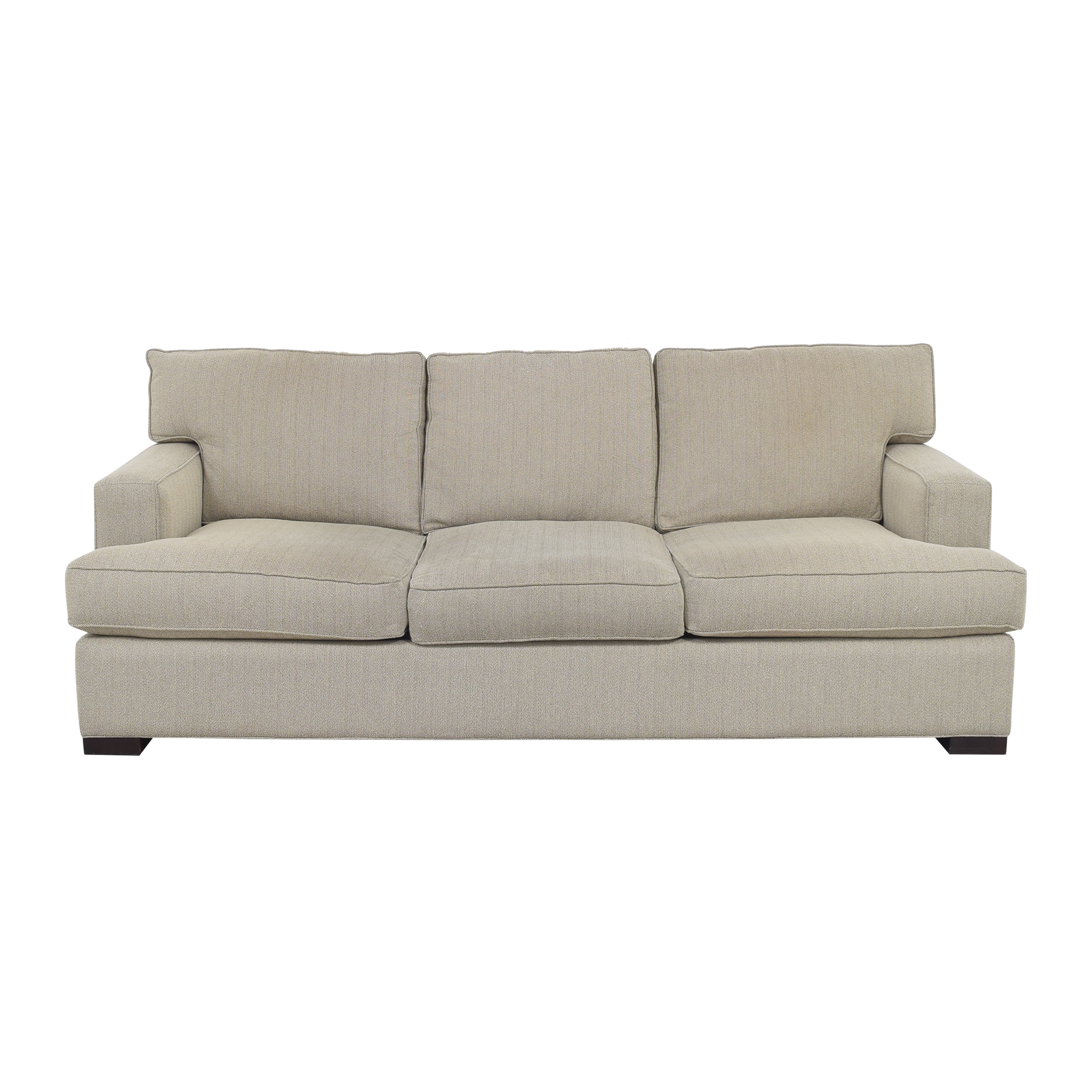 Arhaus Arhaus Dune Three Cushion Sofa Classic Sofas