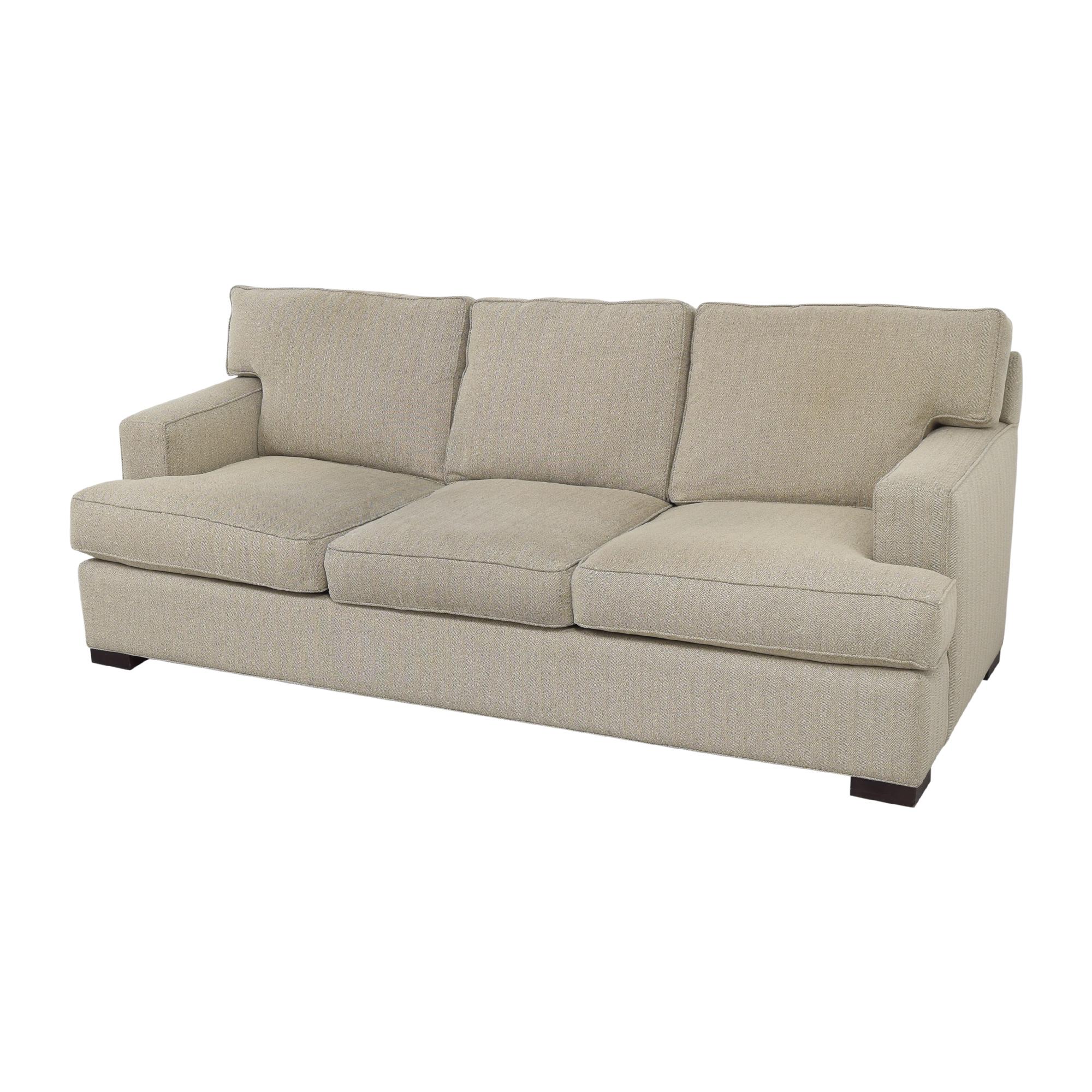 Arhaus Arhaus Dune Three Cushion Sofa beige