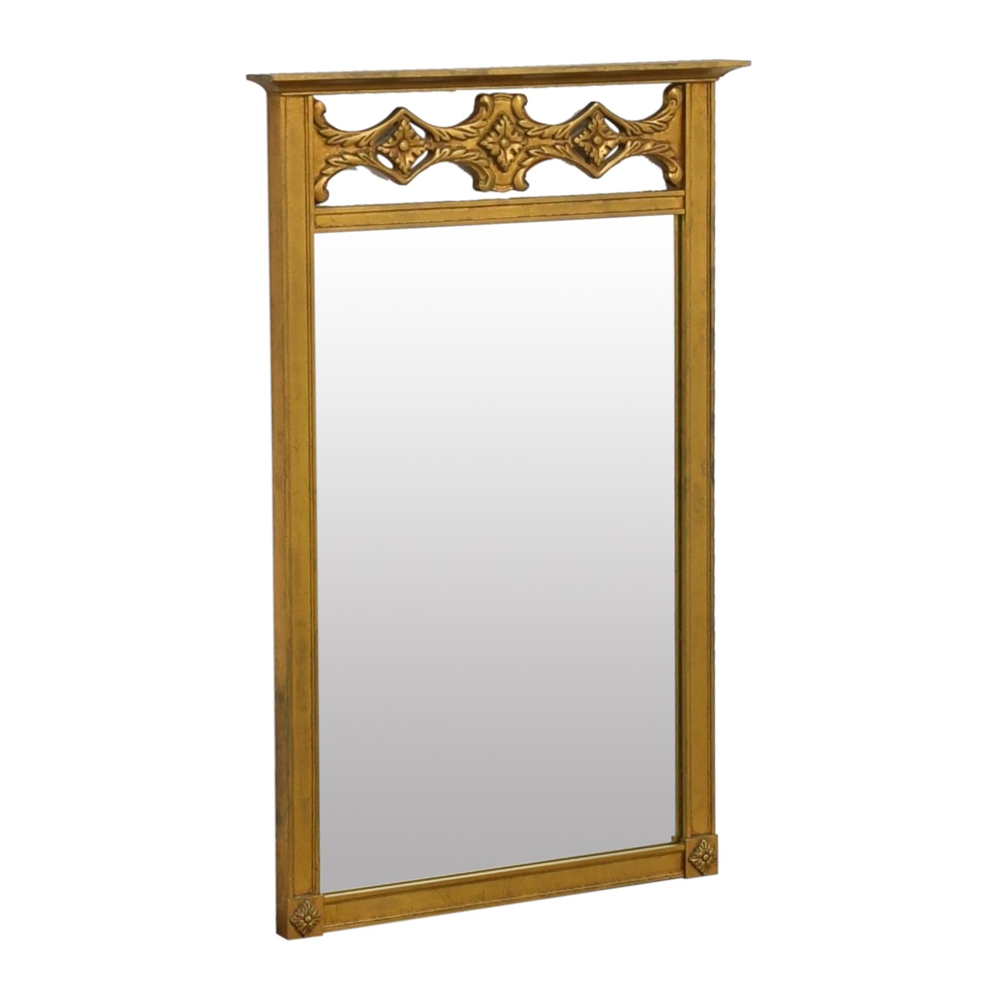 shop Decorative Framed Wall Mirror  Mirrors