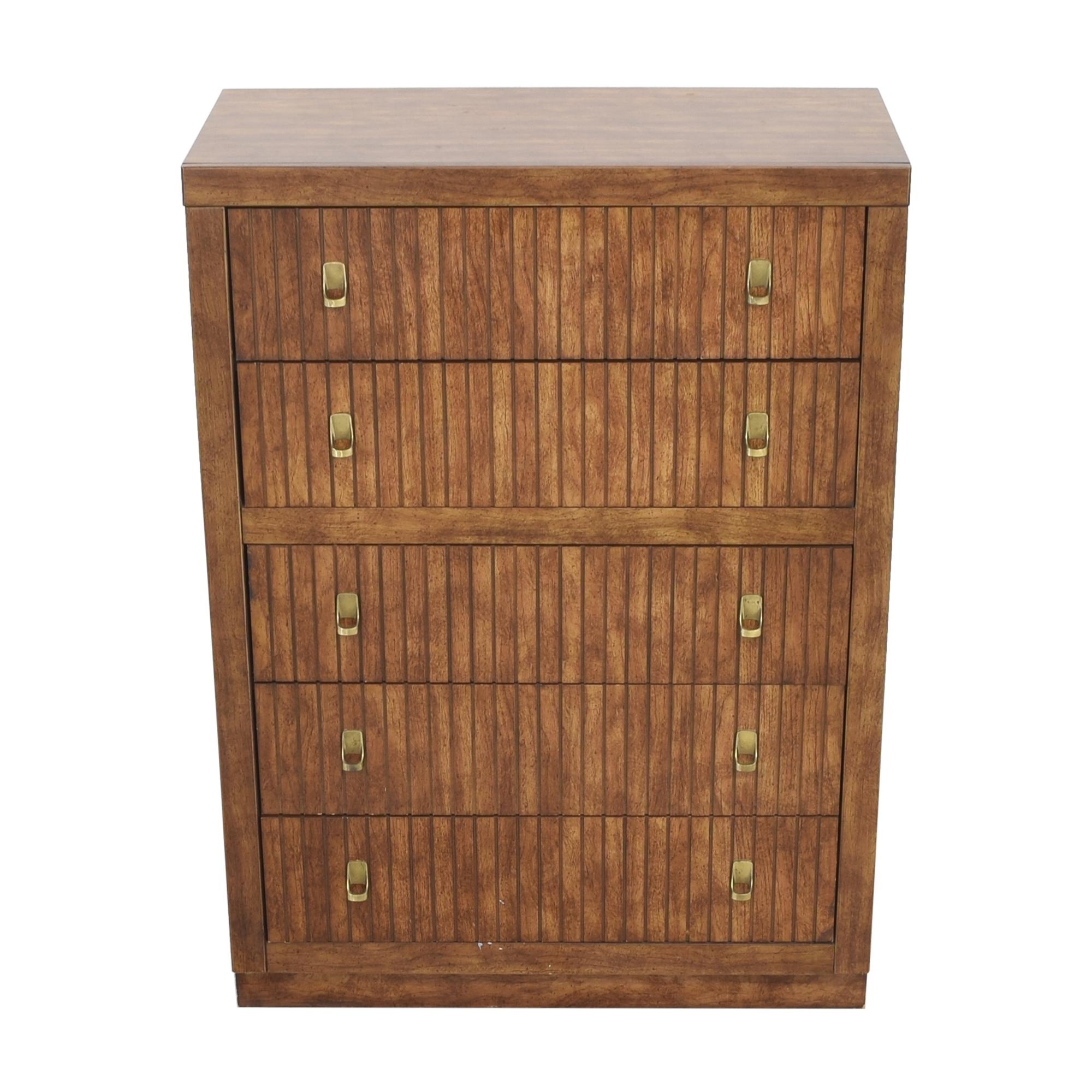Bassett Furniture Bassett Five Drawer Chest nj