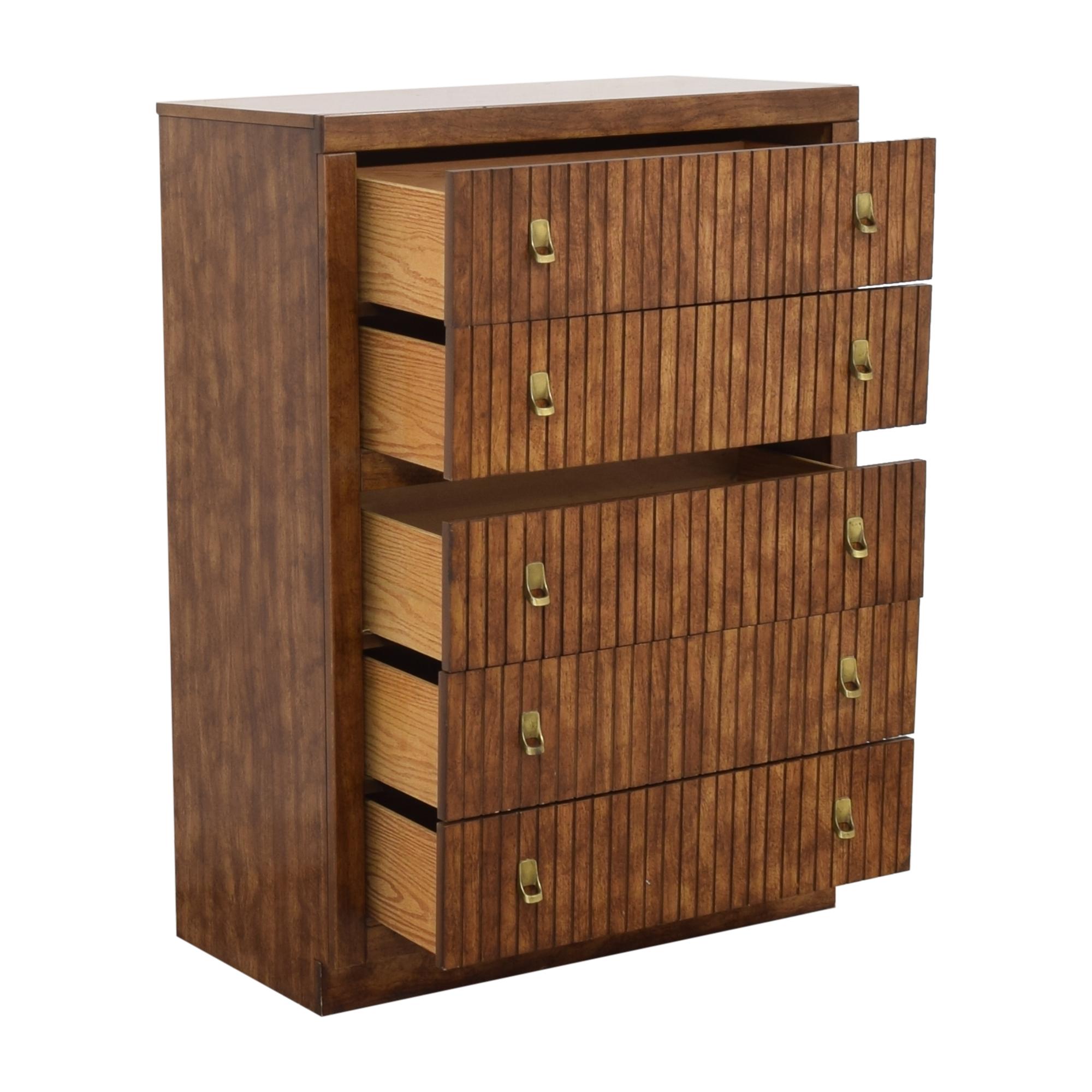 buy Bassett Five Drawer Chest Bassett Furniture Storage