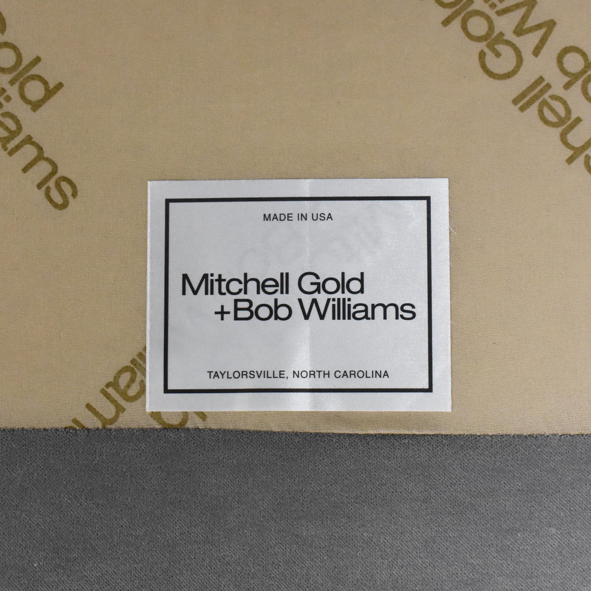 shop Mitchell Gold + Bob Williams Keaton Chaise Sectional Sofa Mitchell Gold + Bob Williams Sofas