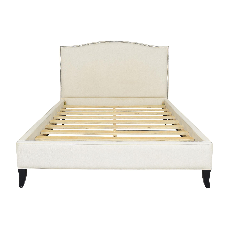 shop Crate & Barrel Crate & Barrel Colette Upholstered Queen Bed online