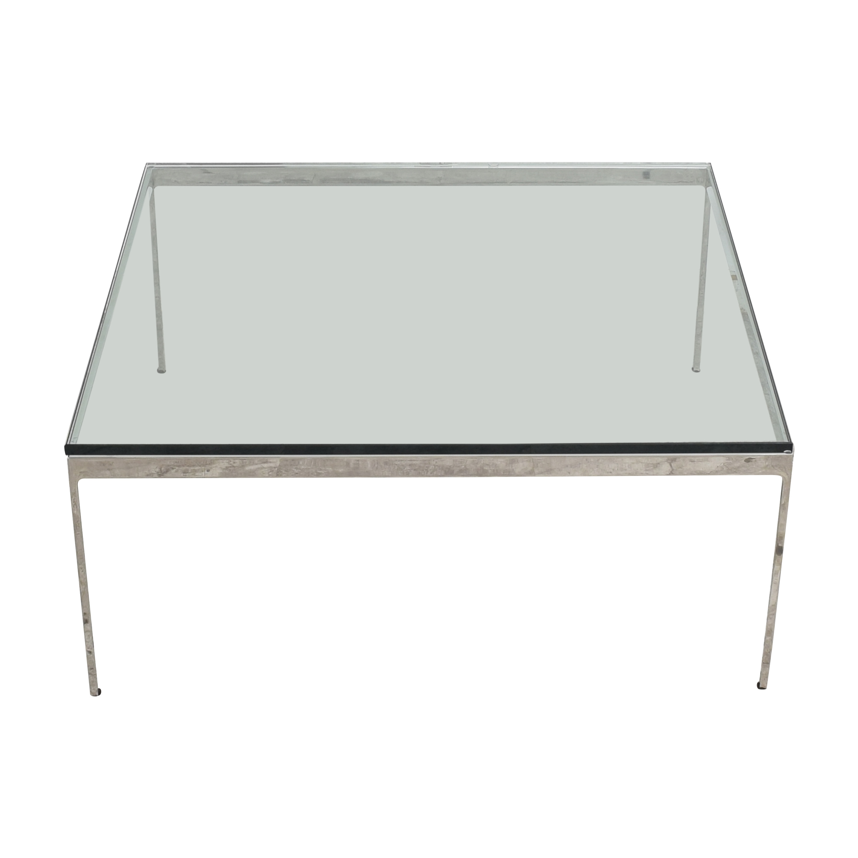 Square Top Coffee Table Coffee Tables