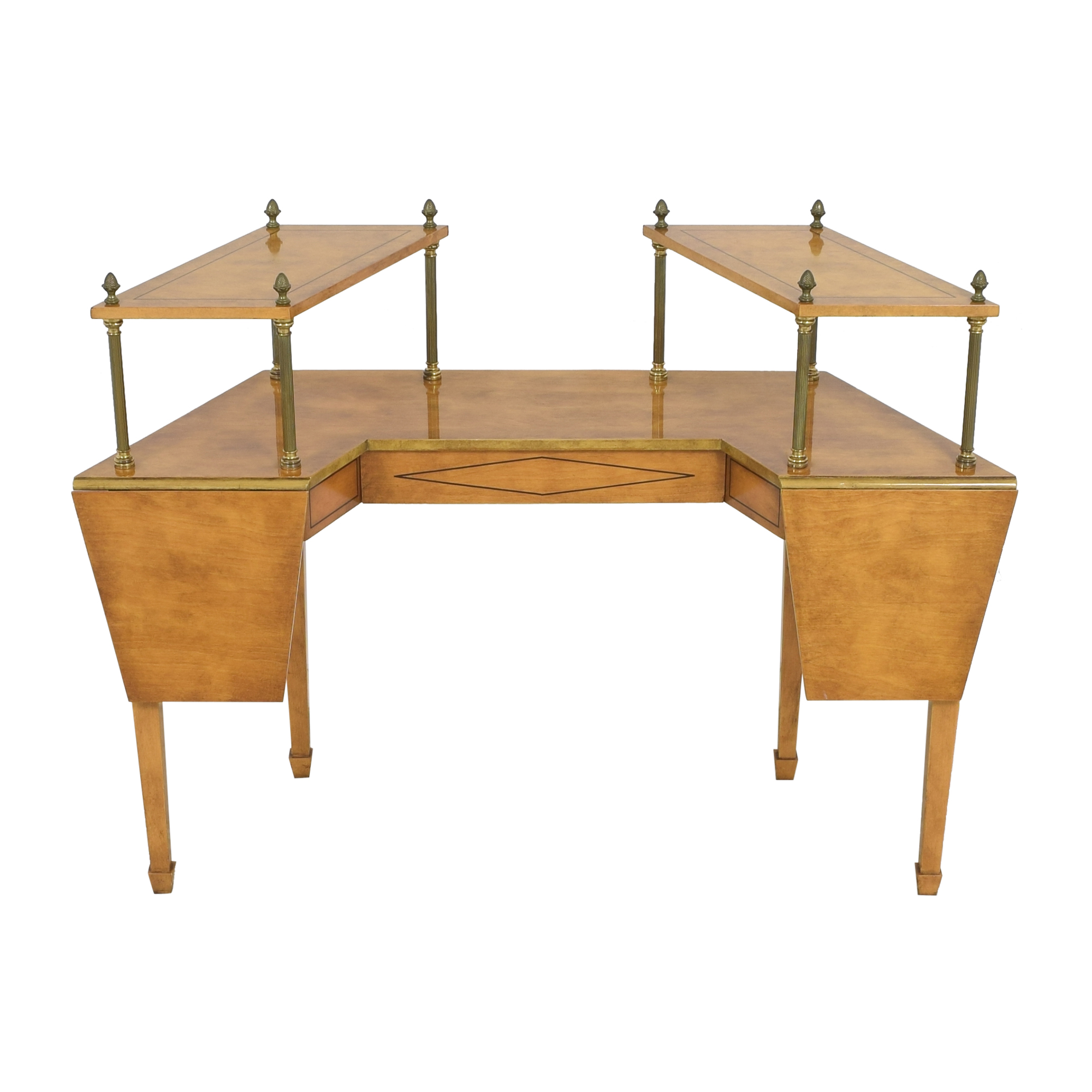 shop  Mid Century Two Tiered Dropleaf Hunt Table online