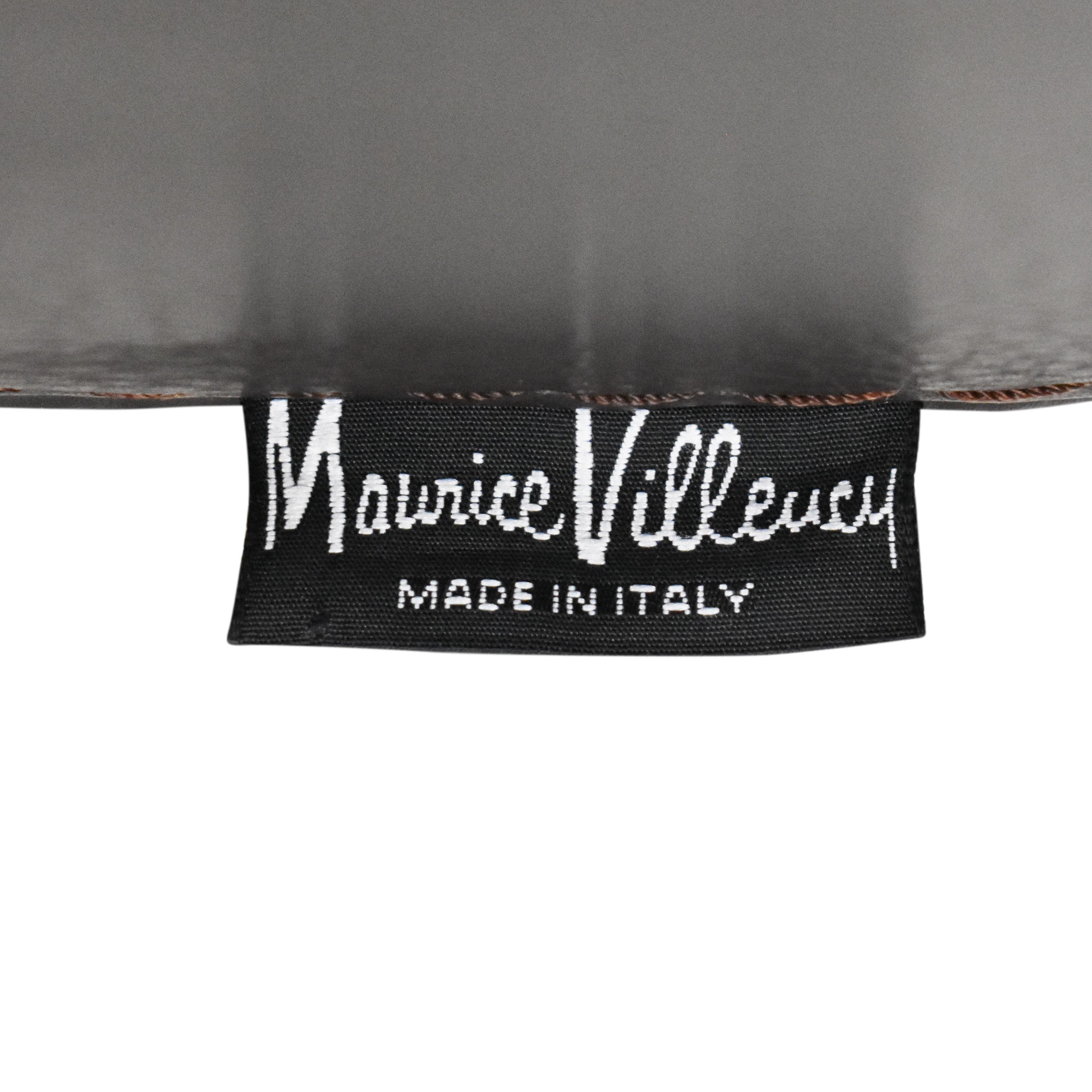 Maurice Villency Maurice Villency Club Chair with Ottoman second hand