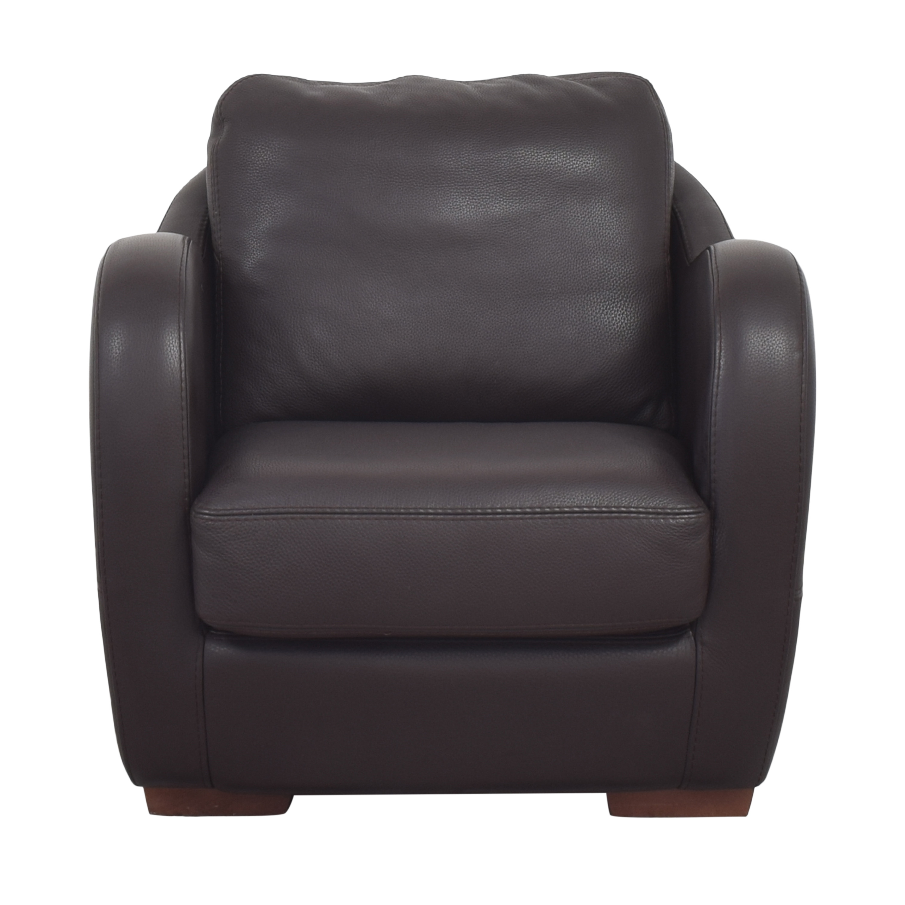 Maurice Villency Maurice Villency Club Chair with Ottoman coupon
