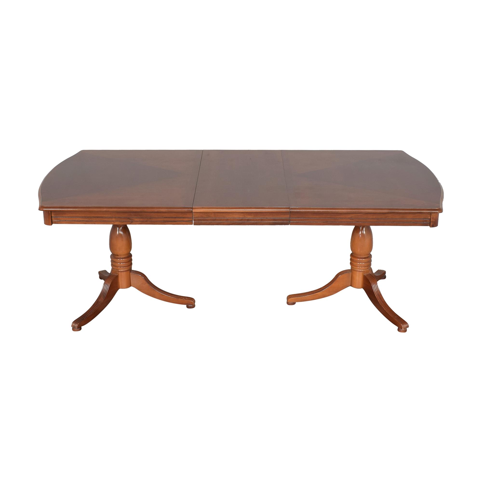 Bassett Extendable Dining Table Bassett Furniture