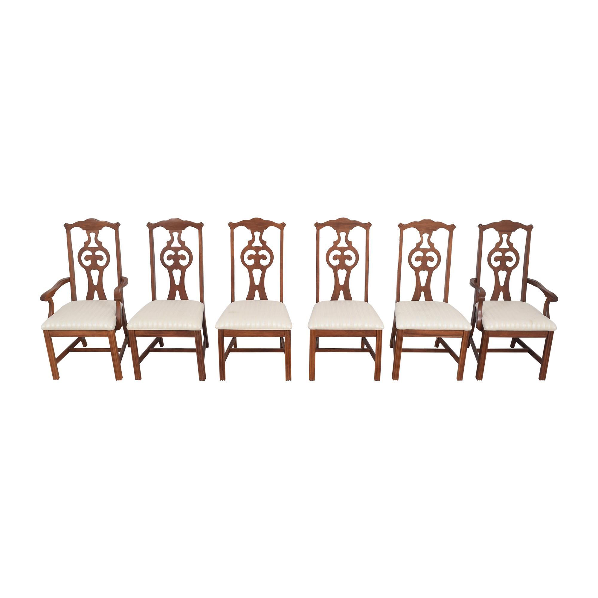 buy Bassett Furniture Upholstered Dining Chairs Bassett Furniture