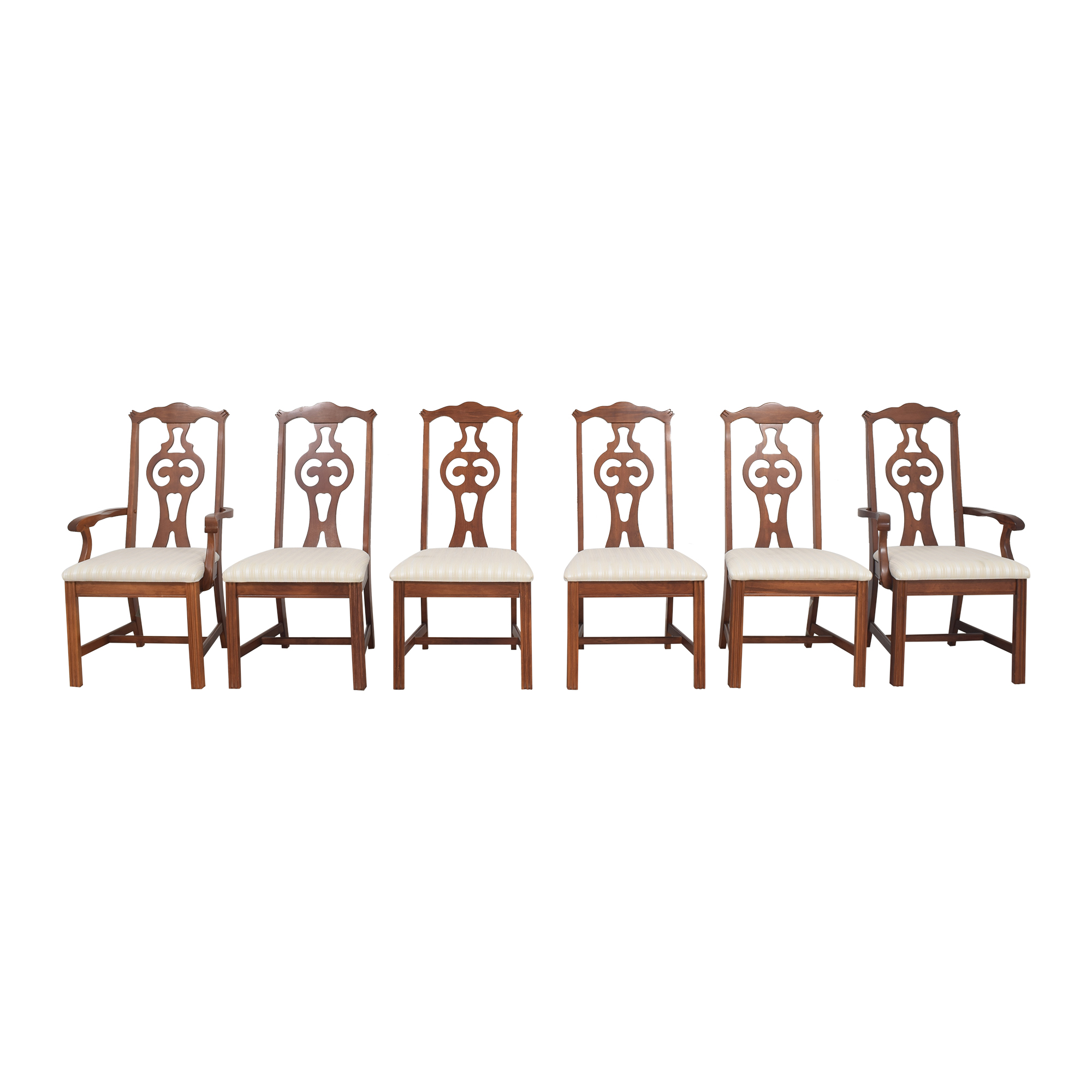 Bassett Furniture Upholstered Dining Chairs / Chairs