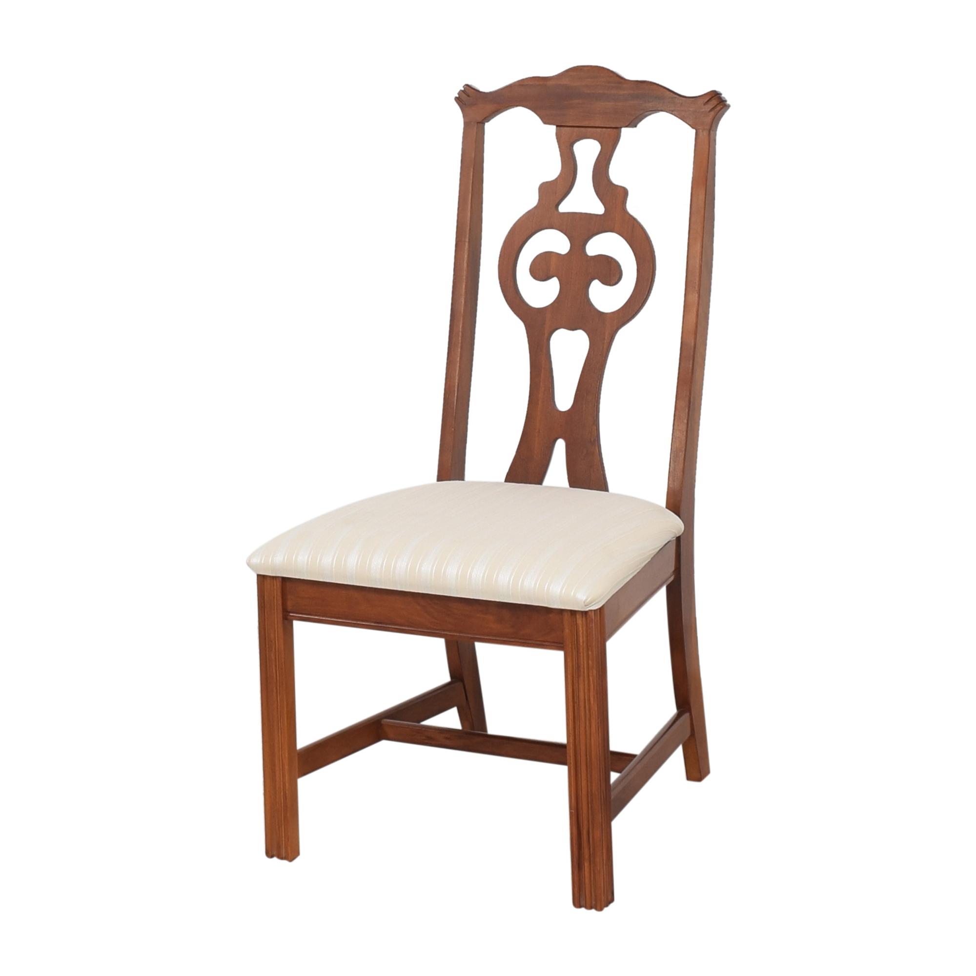 Bassett Furniture Bassett Furniture Upholstered Dining Chairs Chairs