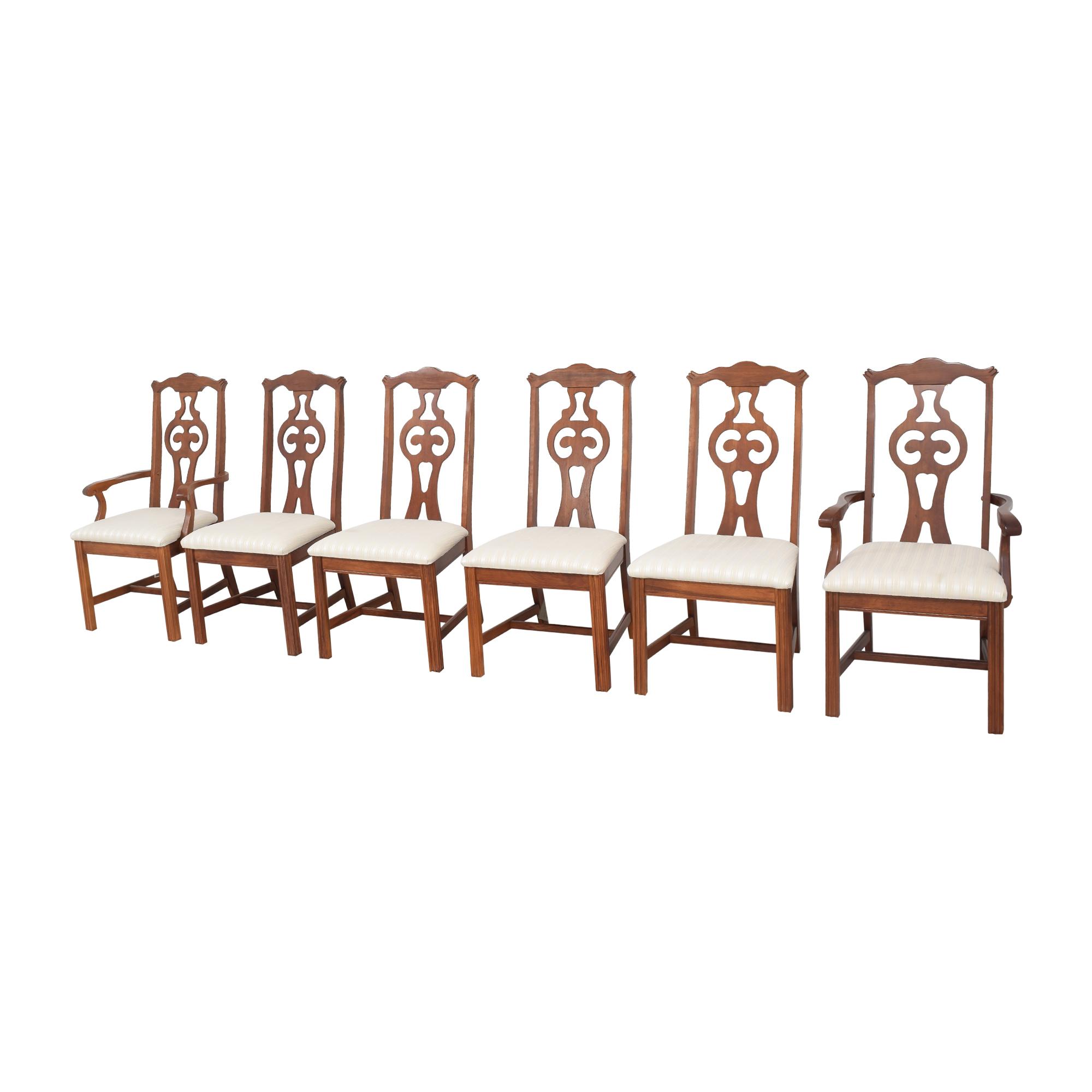buy Bassett Furniture Upholstered Dining Chairs Bassett Furniture Chairs