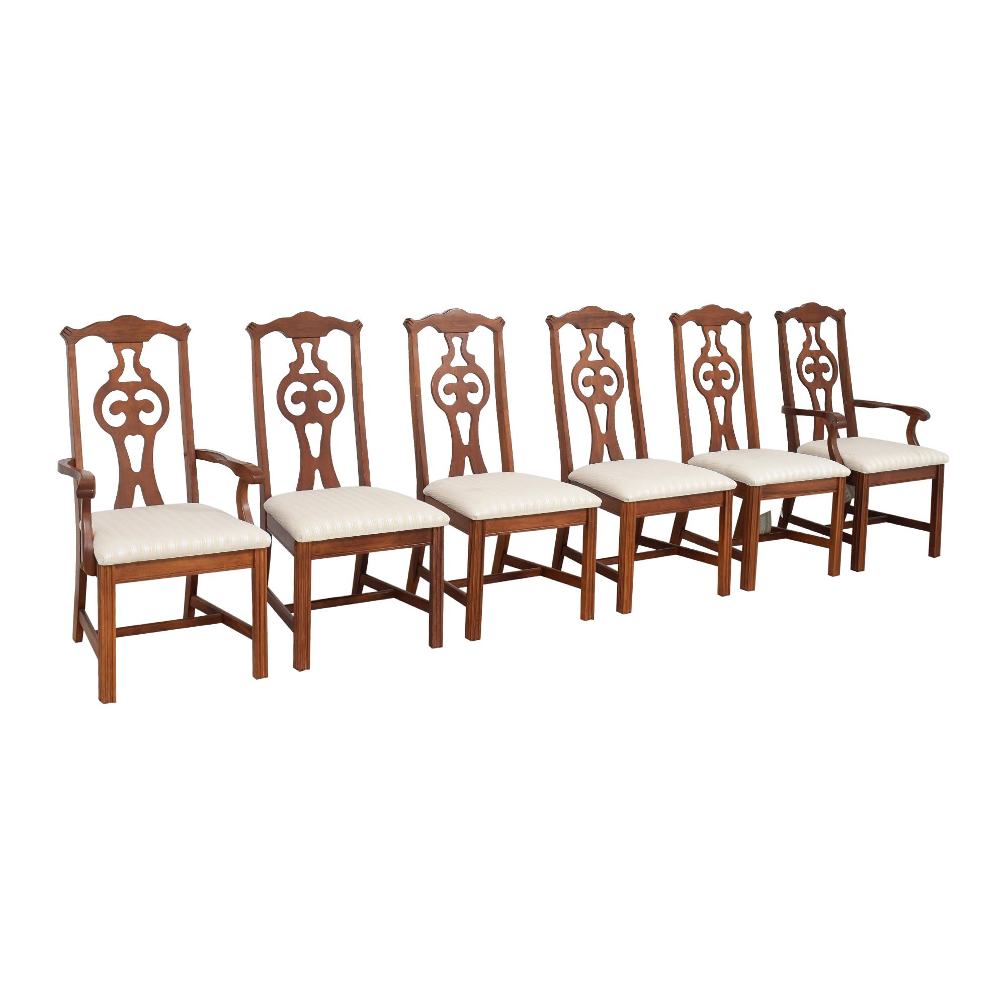 shop Bassett Furniture Upholstered Dining Chairs Bassett Furniture Chairs