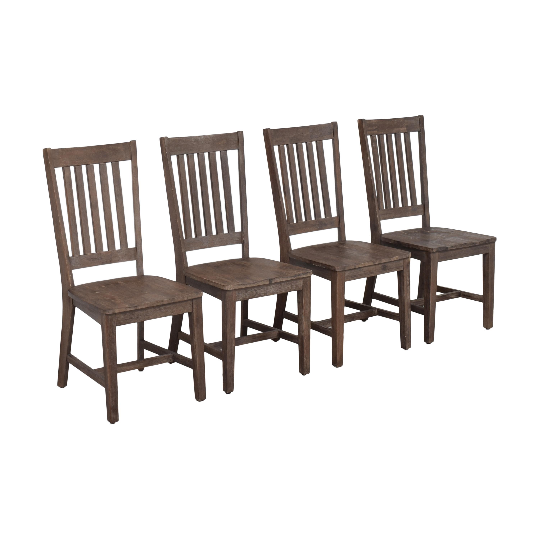 Slat Back Dining Chairs nj