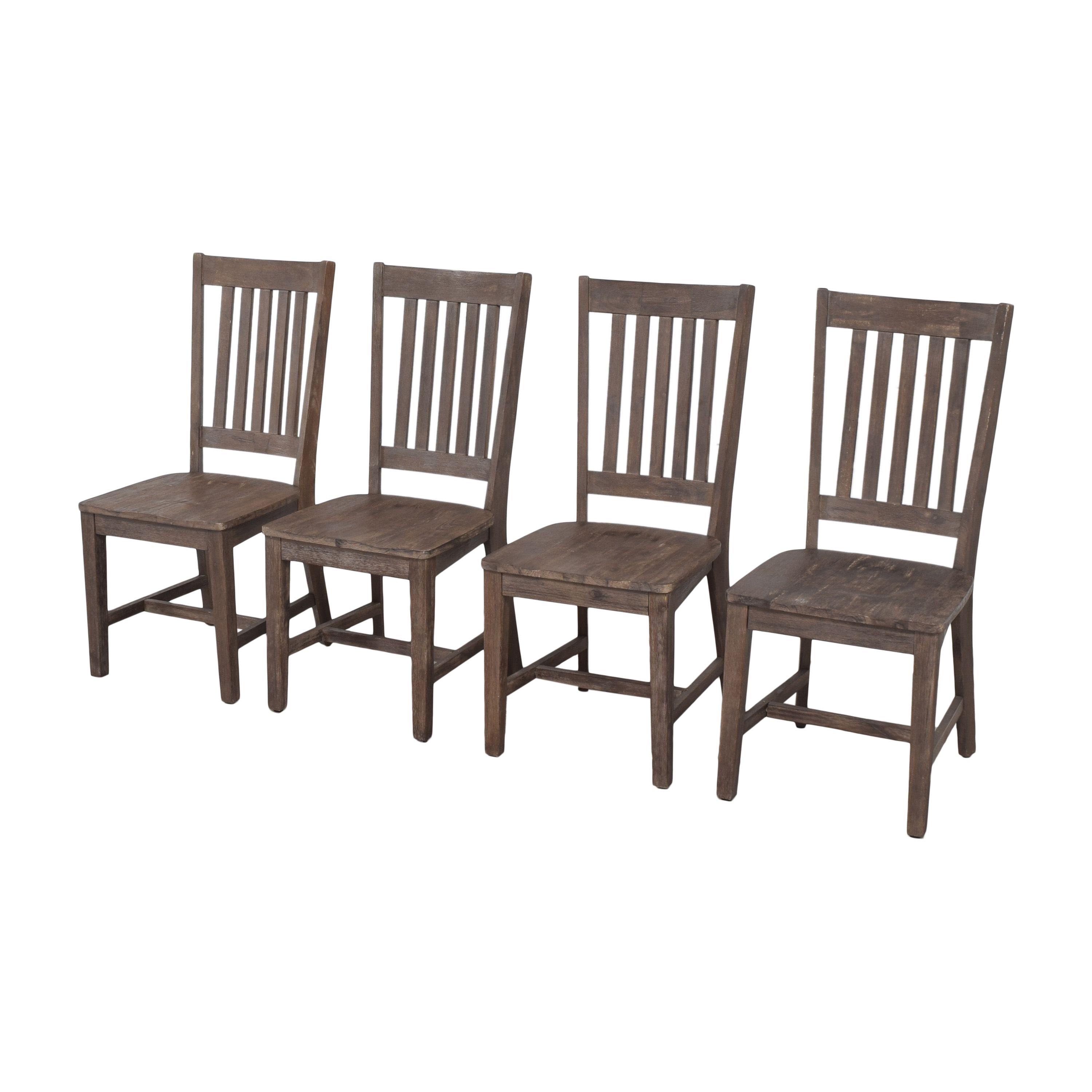 Slat Back Dining Chairs discount