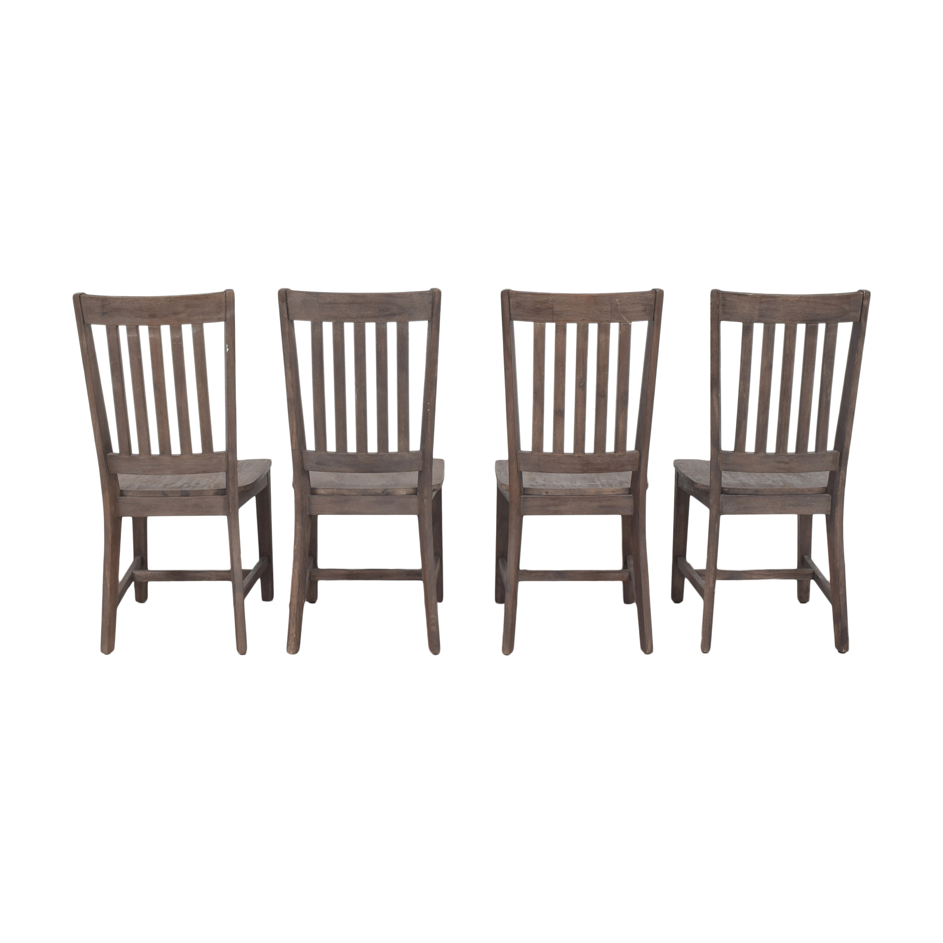 Slat Back Dining Chairs sale