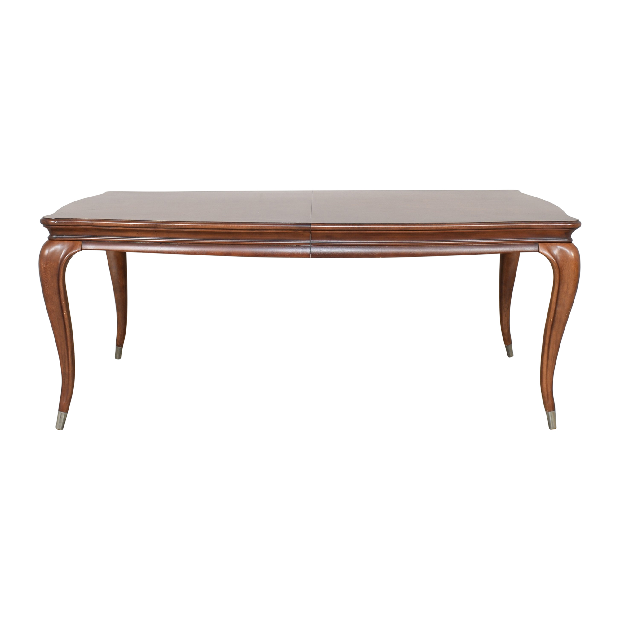 American Drew American Drew Extendable Queen Anne Dining Table brown