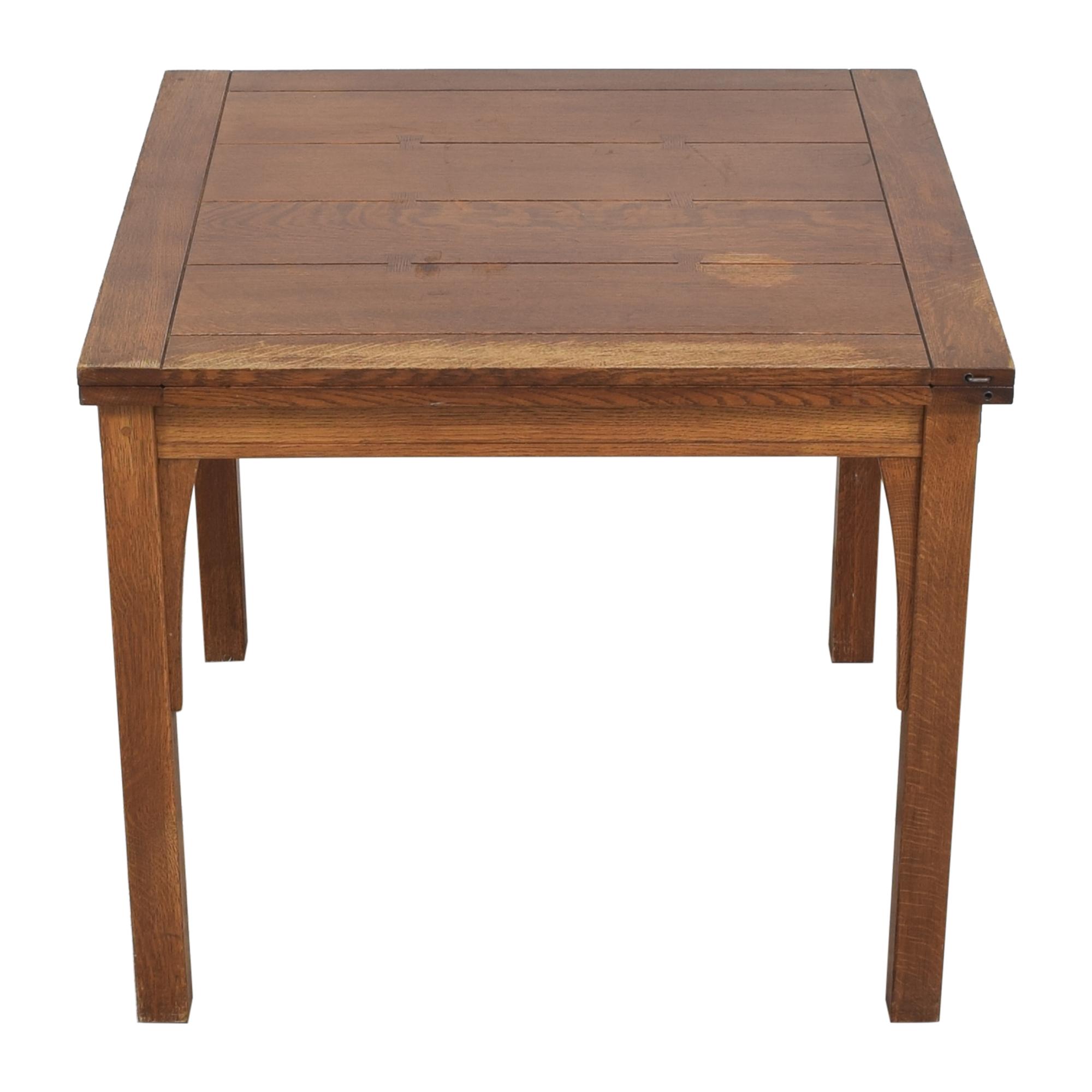 Stickley Furniture Stickley Furniture Mission Flip Top Extendable Table Dinner Tables