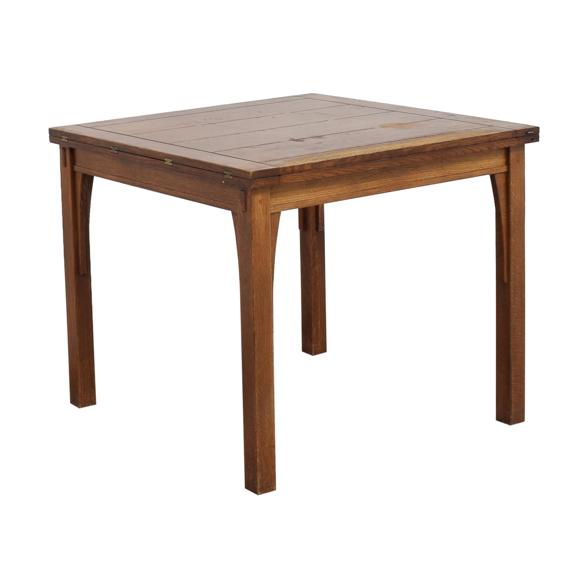 buy Stickley Furniture Stickley Furniture Mission Flip Top Extendable Table online