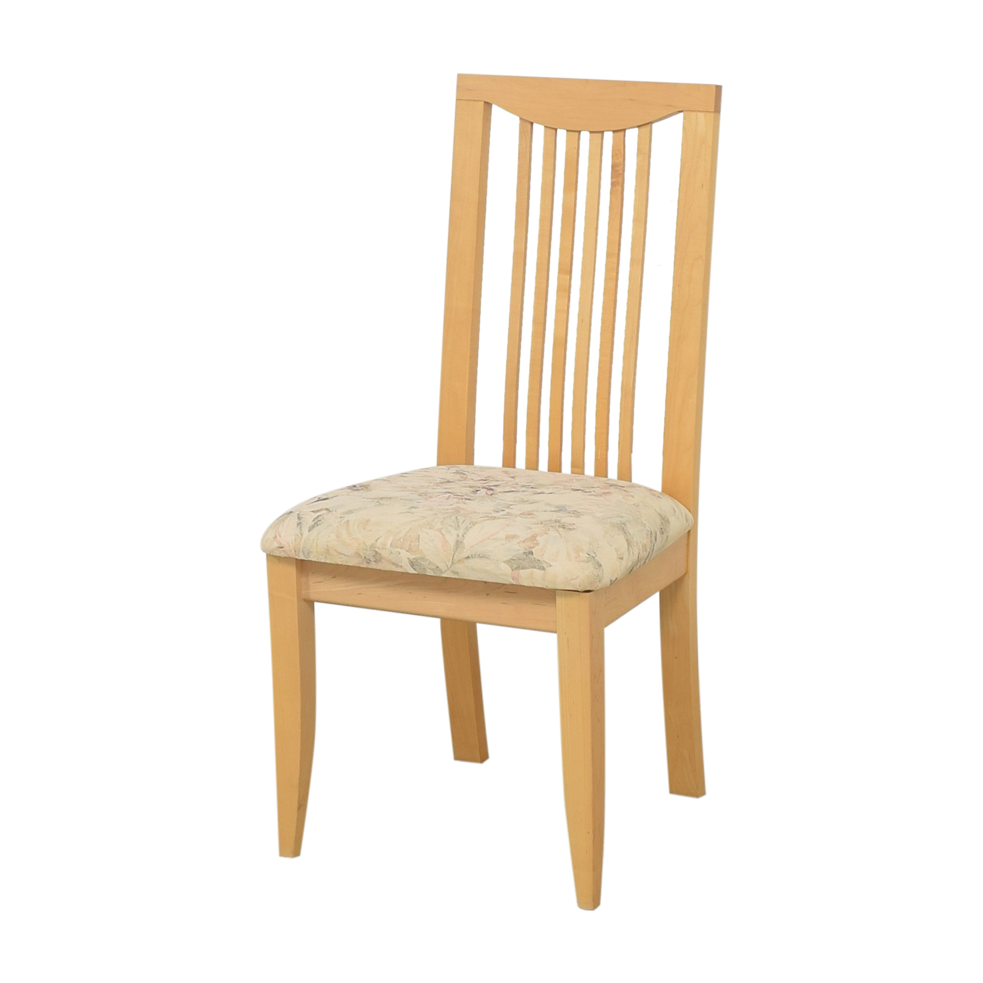 Saloom Saloom Slat Back Dining Chairs multi