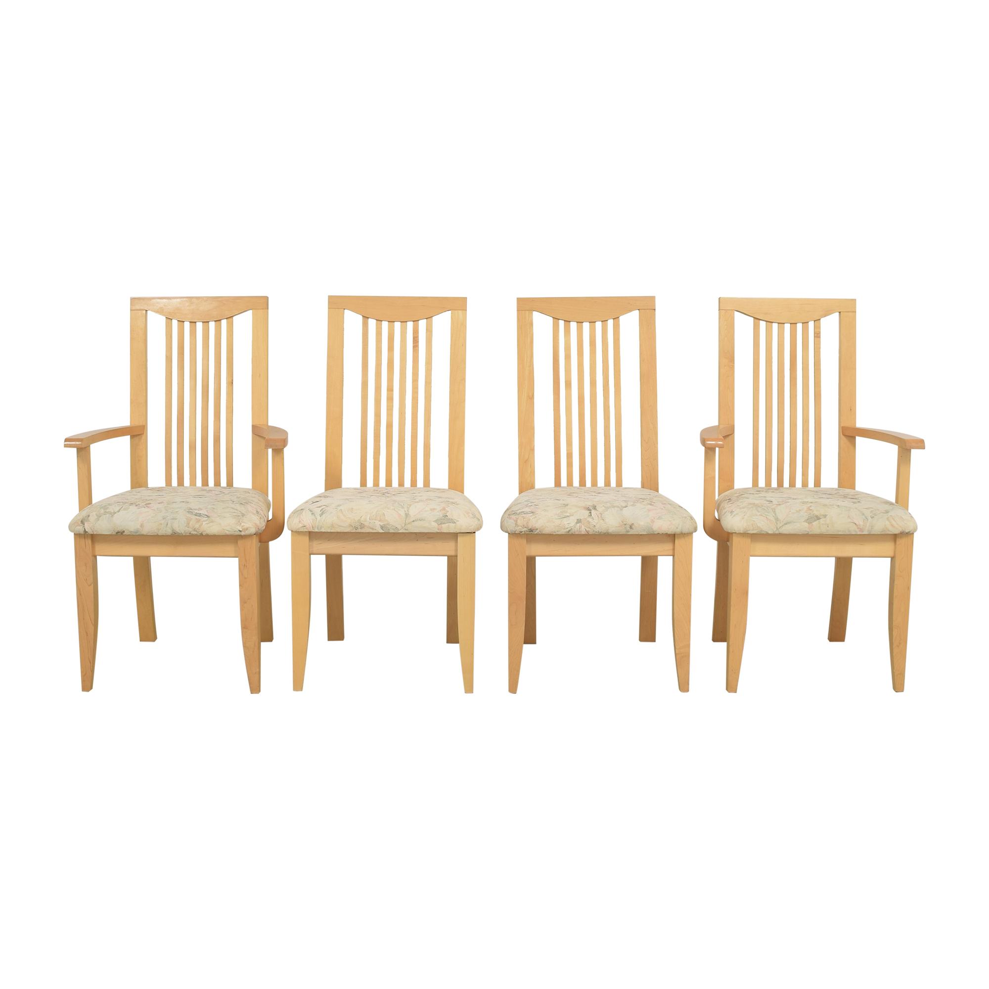 Saloom Slat Back Dining Chairs Saloom