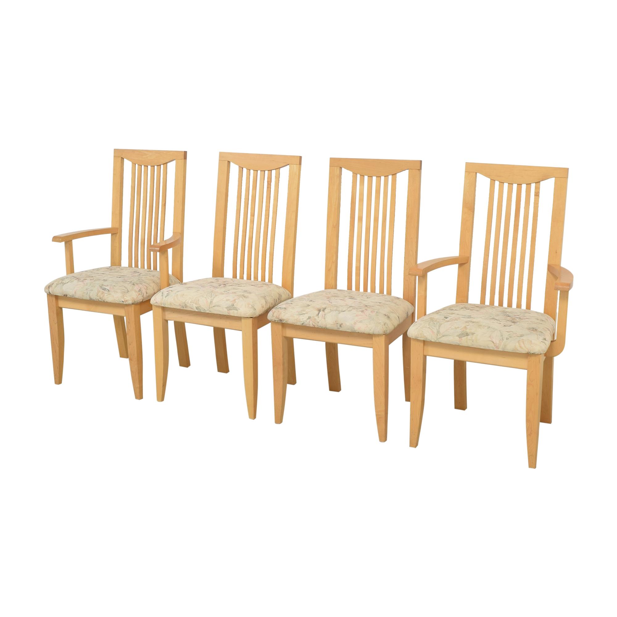 Saloom Saloom Slat Back Dining Chairs second hand