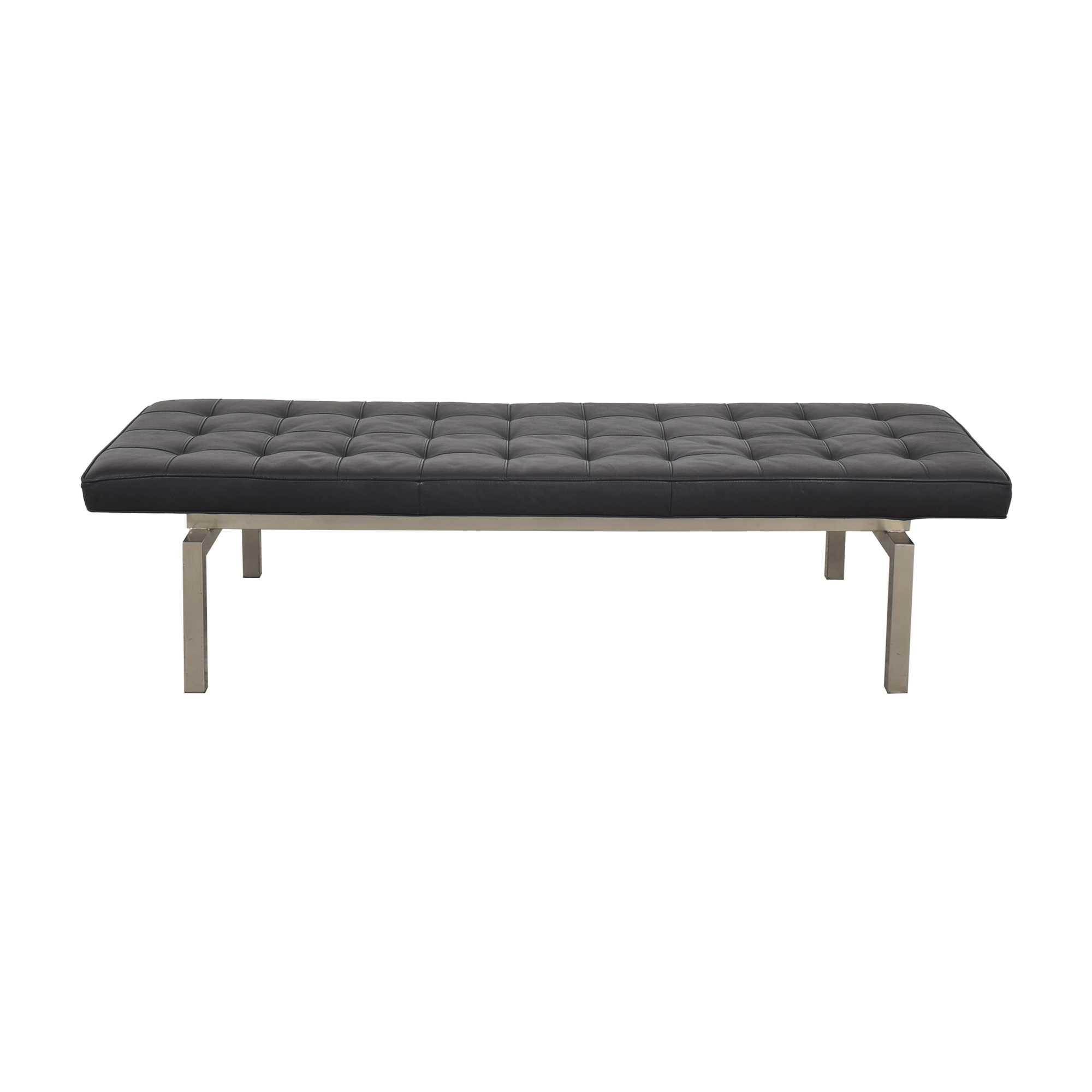 shop American Leather Rex Bench American Leather Ottomans
