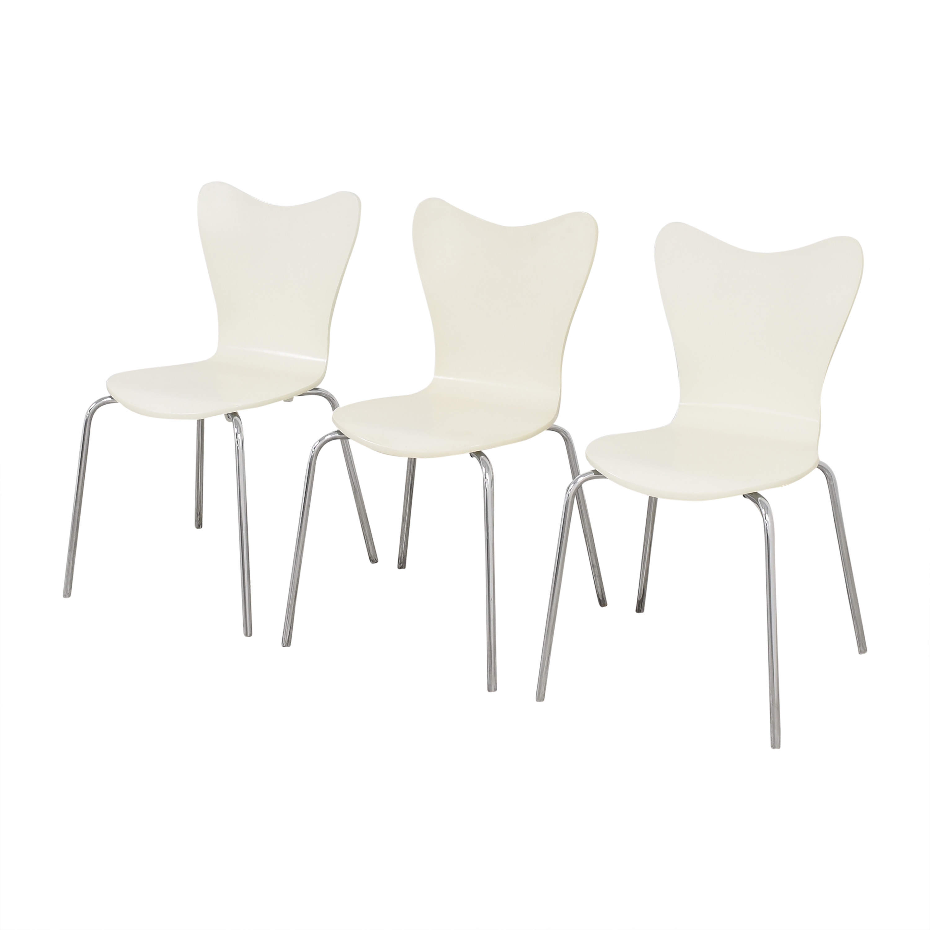 West Elm Scoop Back Dining Chairs West Elm