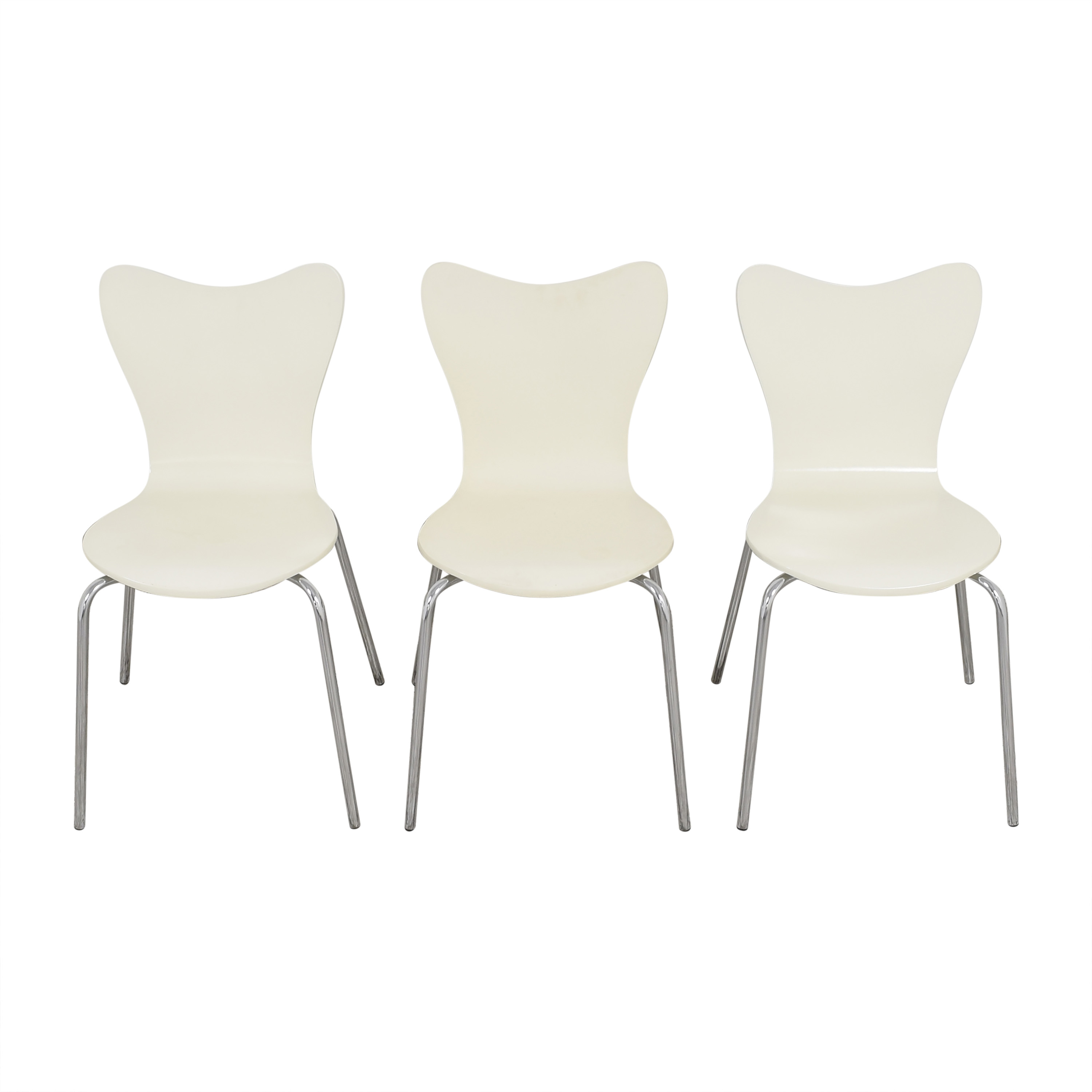 West Elm West Elm Scoop Back Dining Chairs ct